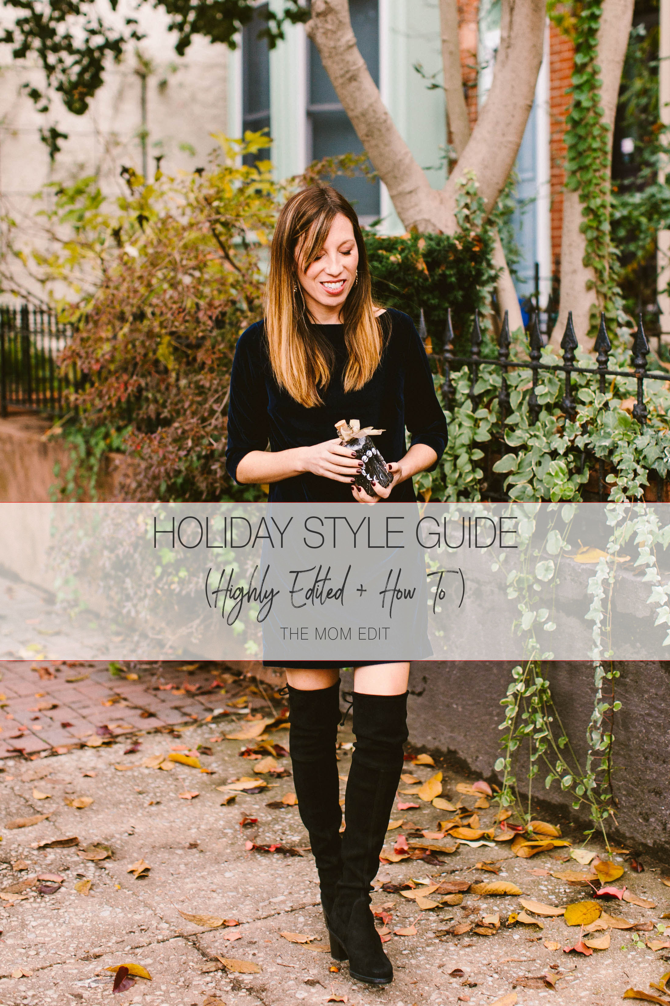 Happy holidays & a little wardrobe love for you! We focus on what's already in your closet & how to add a few key pieces to make your outfits more festive.