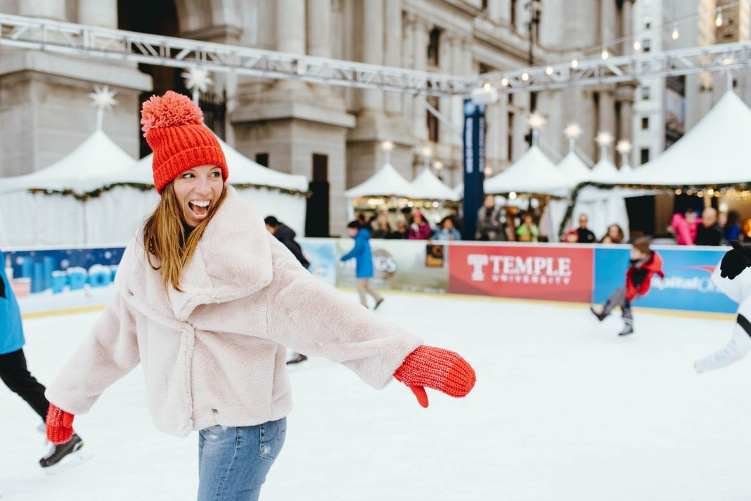Philly does holidays super-well & 1 of our fav family activities is ice skating. We're hitting it hard this winter, all while staying warm & looking cute.