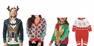 You know those kind-of awful, VERY ugly Christmas sweaters that return every holiday season?Well...these are best for women, men, kids and baby....says us.