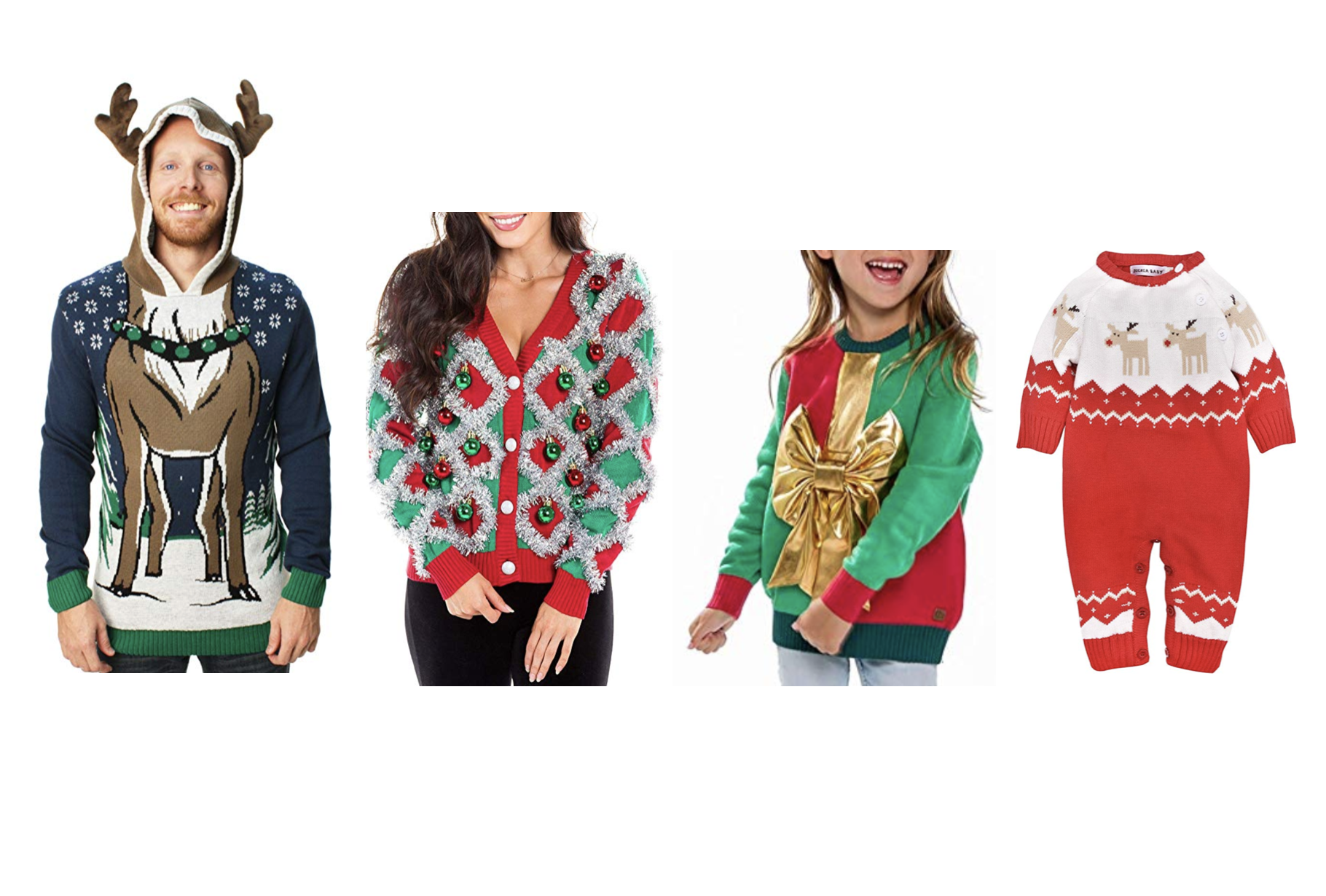 2c80950047a What to Wear To An Ugly Christmas Sweater Party (For The Whole Fam ...