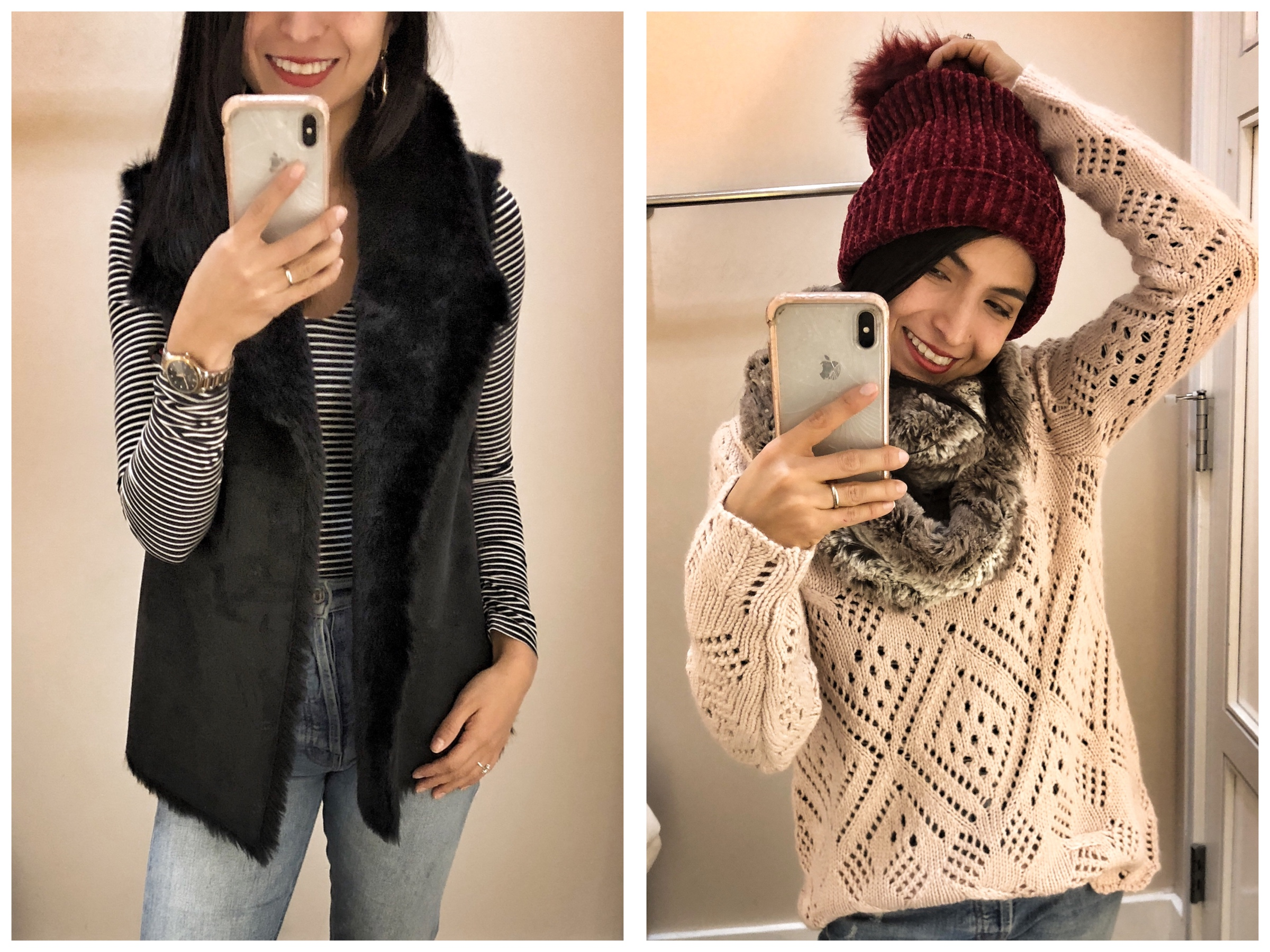 LOFT is 1 of our daily outfit go-tos, so we're giving it much love for Black Friday & holiday shopping. Check out our #dressingroomselfies (lots on sale!)