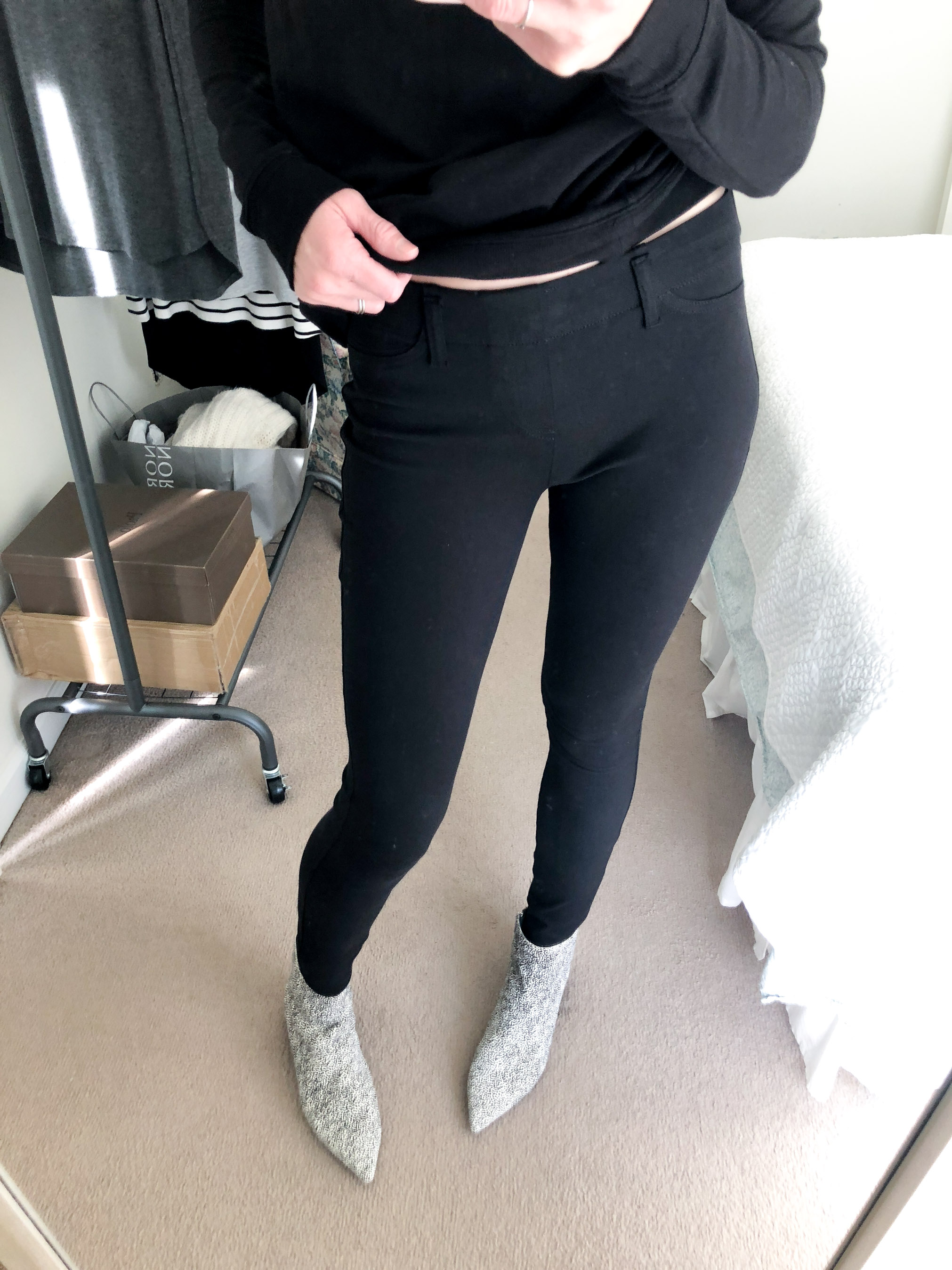 black jegging jeans daily ritual_