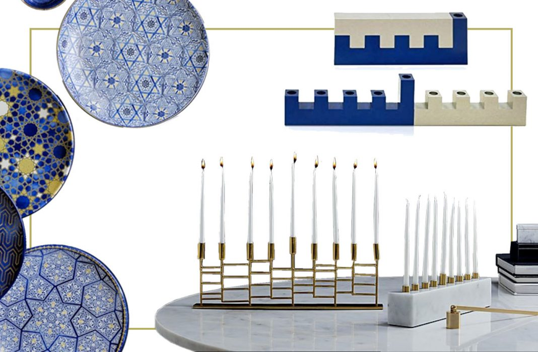 A house decorated in blue is super-fun...Hanukkah food is delish & Dreidel never gets old. It's time to light candles, share meals & make wishes. Here's how.