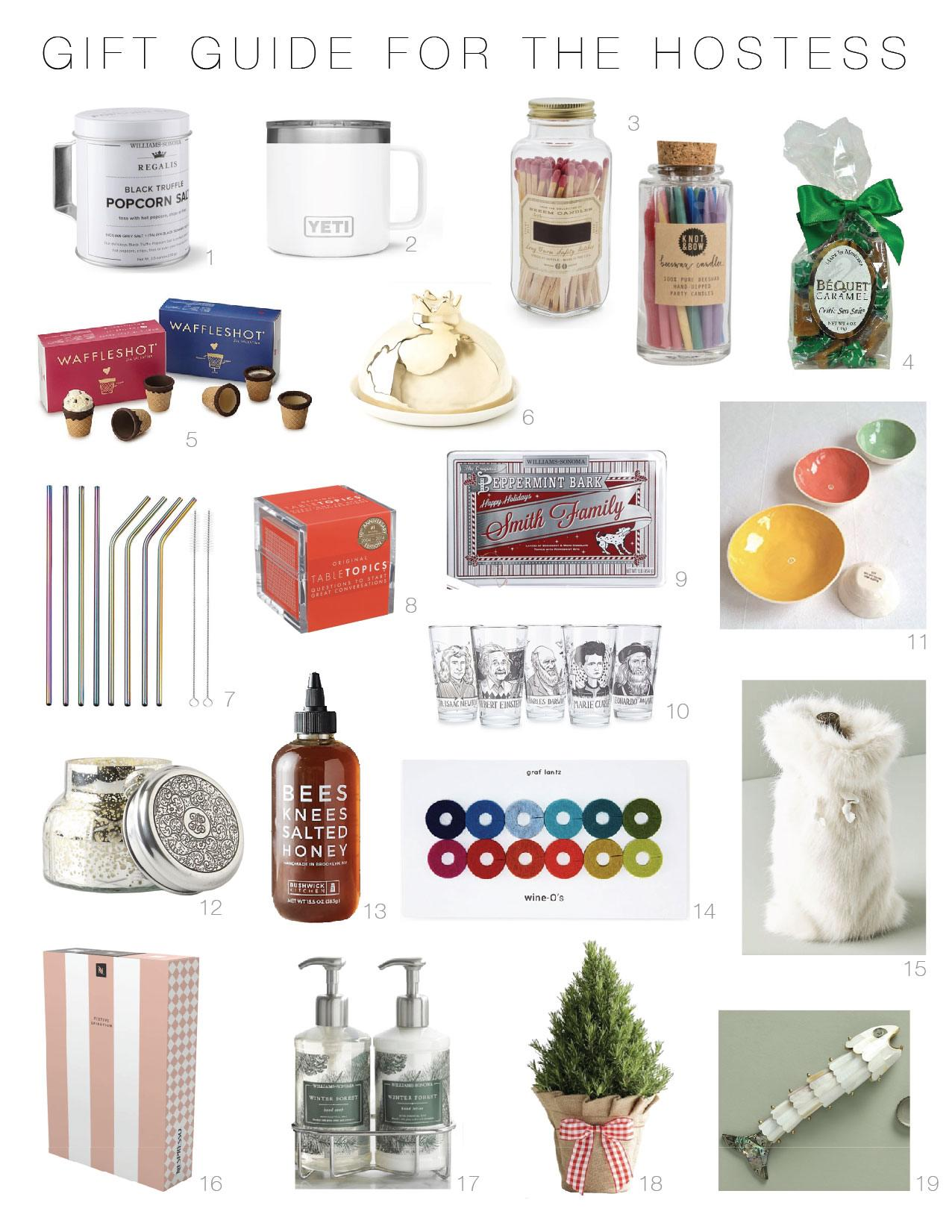 It's party season! We rounded up the 20 best hostess gifts of 2018. Keep a few of these easy, cute little gifts on hand for the next time you're the guest.