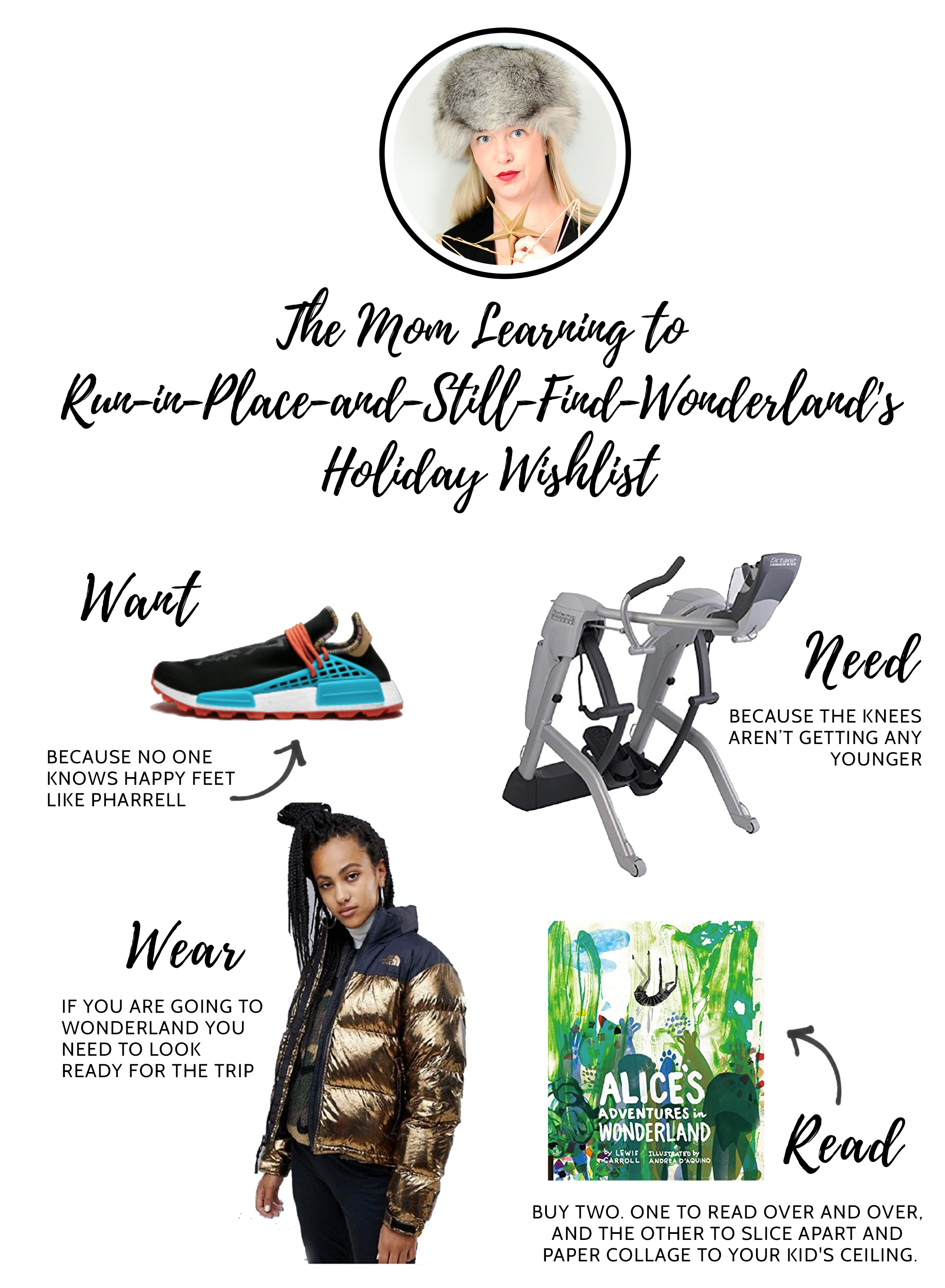 If Santa's not kissing Mommy, he better leave her something stunning under the tree. See what's on the editors' Want, Need, Wear, Read wishlists.