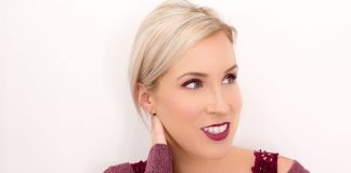 An all-black outfit or a cozy grey sweater is sooo comforting in winter. BUT we're trying a burgundy makeup refresh for the perfect pop of color. Try it!