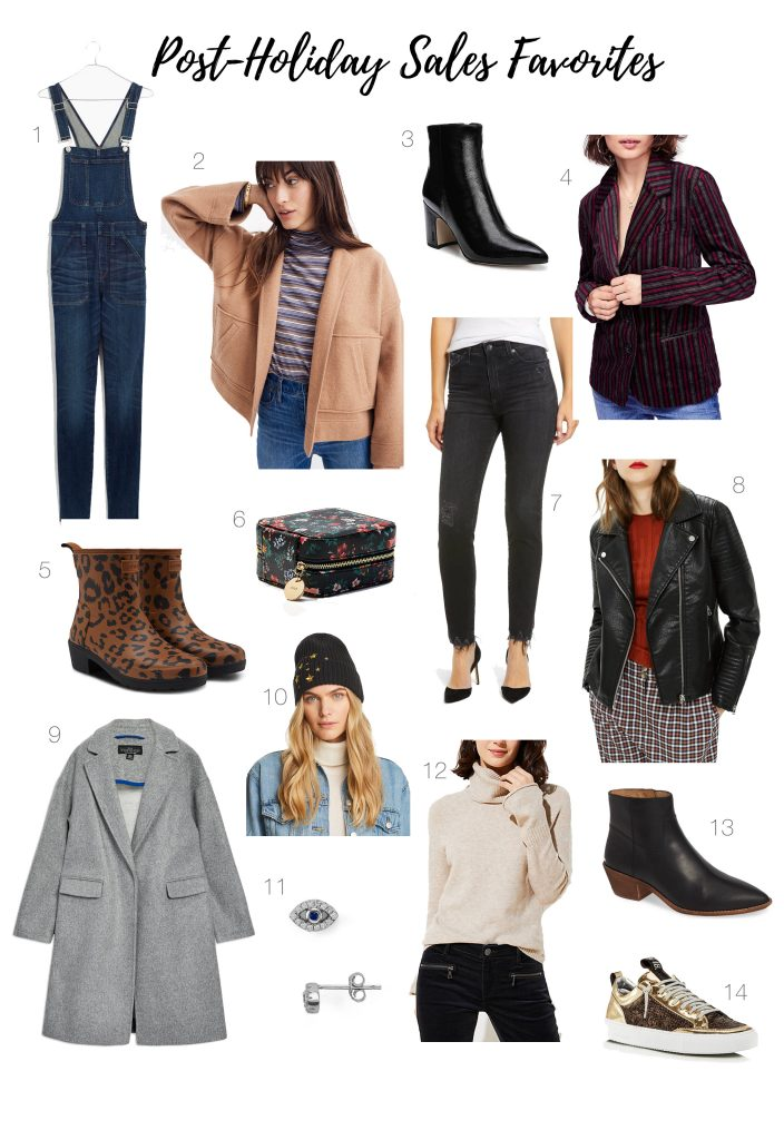 So many post-holiday & after-Christmas sales, so little time. So we're saving you some with our quick & dirty casual-glam outfit pick list. Happy Shopping!