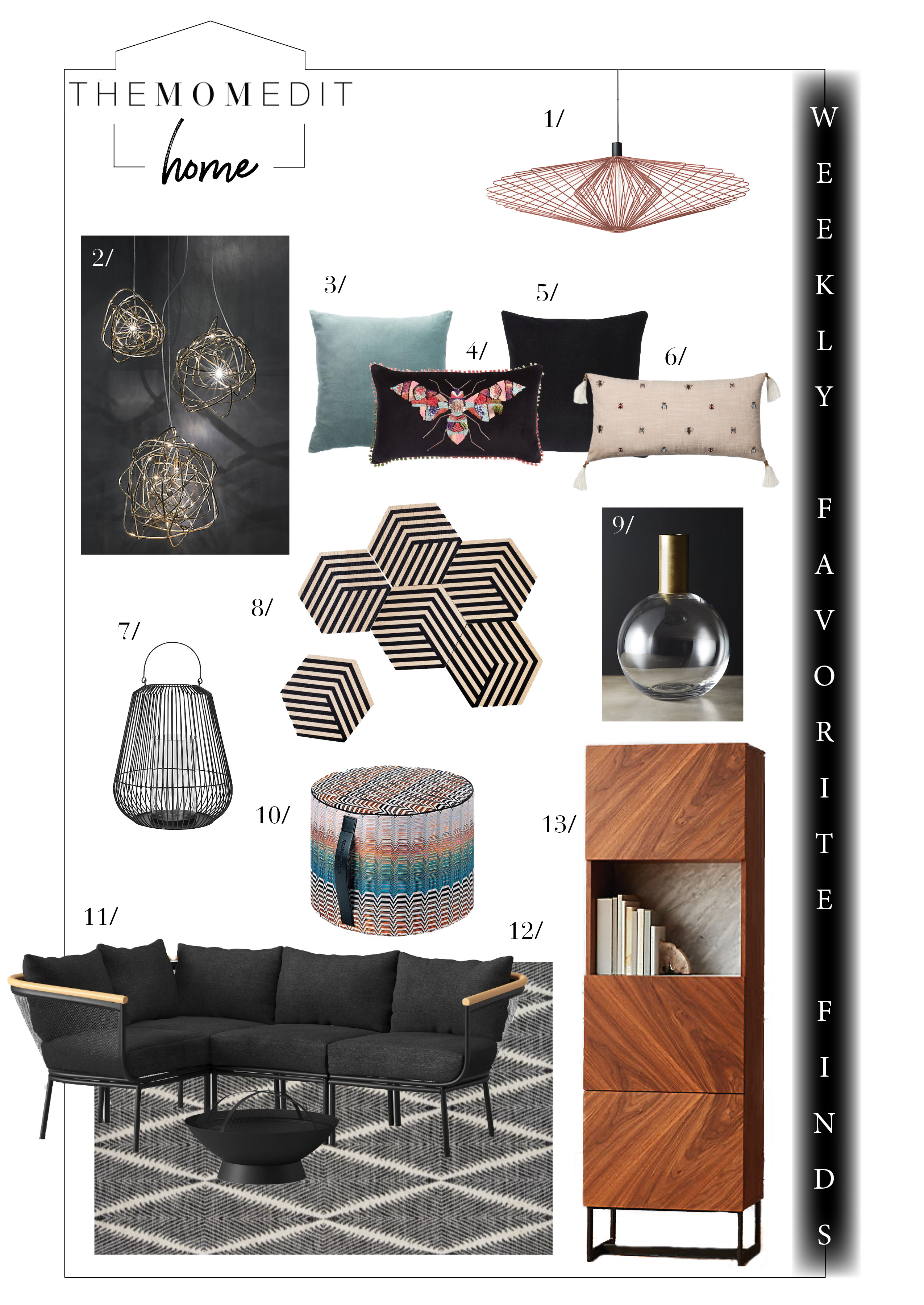 It's mid-winter & we're going buggy. So, we're accepting that & bringing the bugs indoors to spice up our home decor. Check out our favs from CB2 to Gilt.