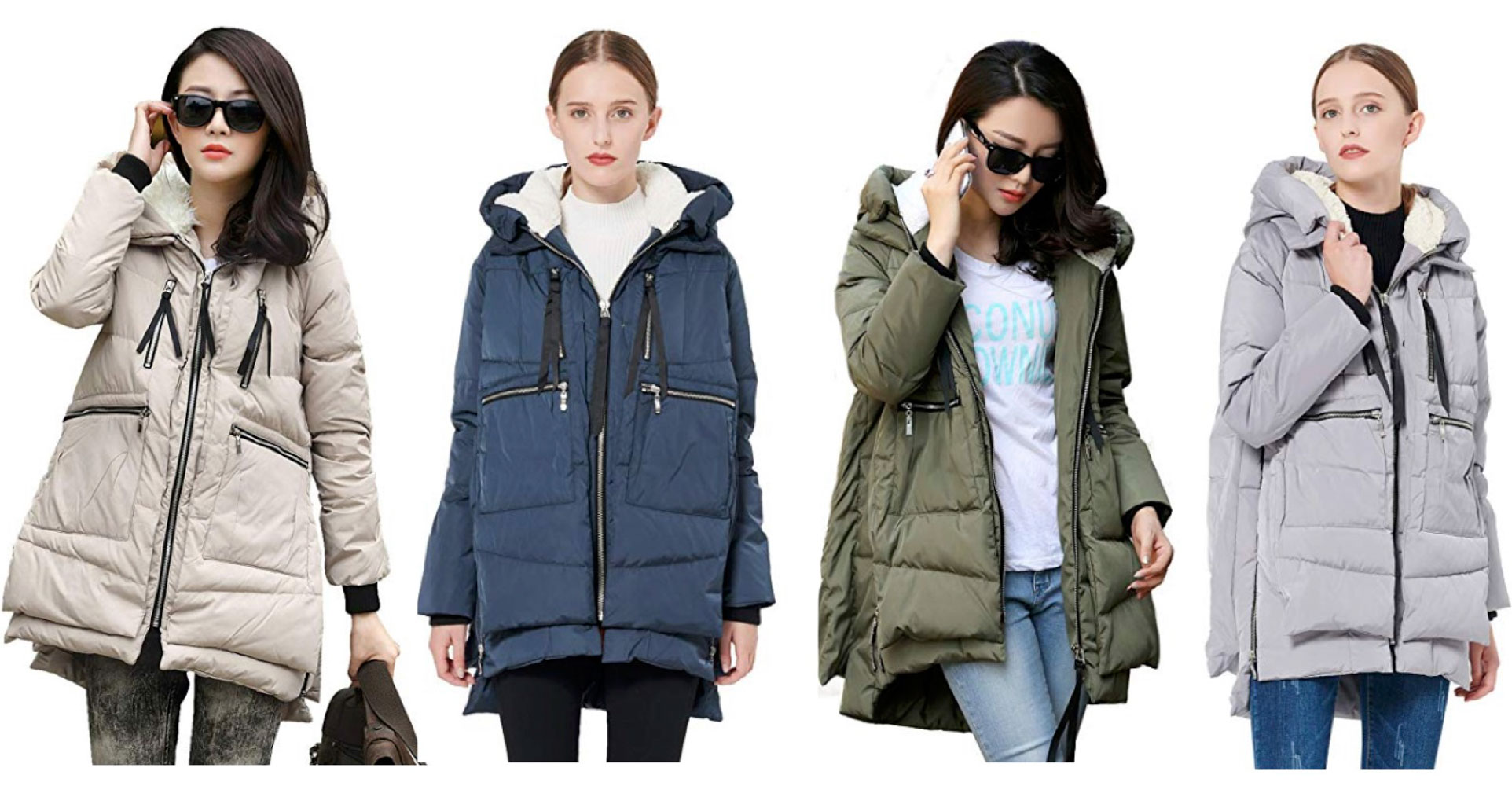 "So the Amazon Orolay thickened down jacket is ""THE COAT"" — the ""it"" coat of 2018-2019? We tried it. Check out the look, zippers, warmth & fit — for reals."