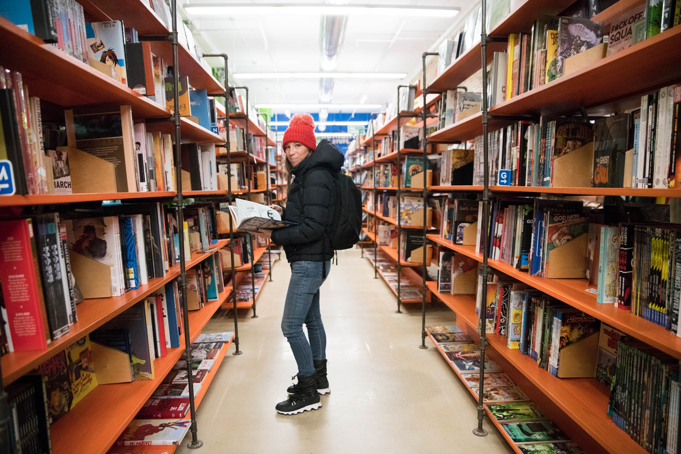 Graphic novels are insanely integral to our kids' love of reading. We got so many v. cool recs from comic book store Vault of Midnight, we had to share.