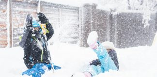 Snow + school cancellations = oy! Get ready to be a super-cool Snow Day Mom, armed with fun activities to do with the kids inside & out. Here's your guide.
