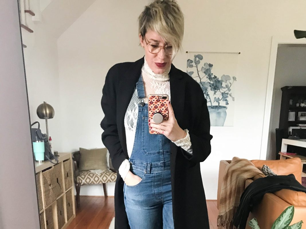 Don't call it a comeback — some of us have kept overalls on mom jean rotation without missing a beat. They're tricky to style, so we have 3 can't-miss tips.