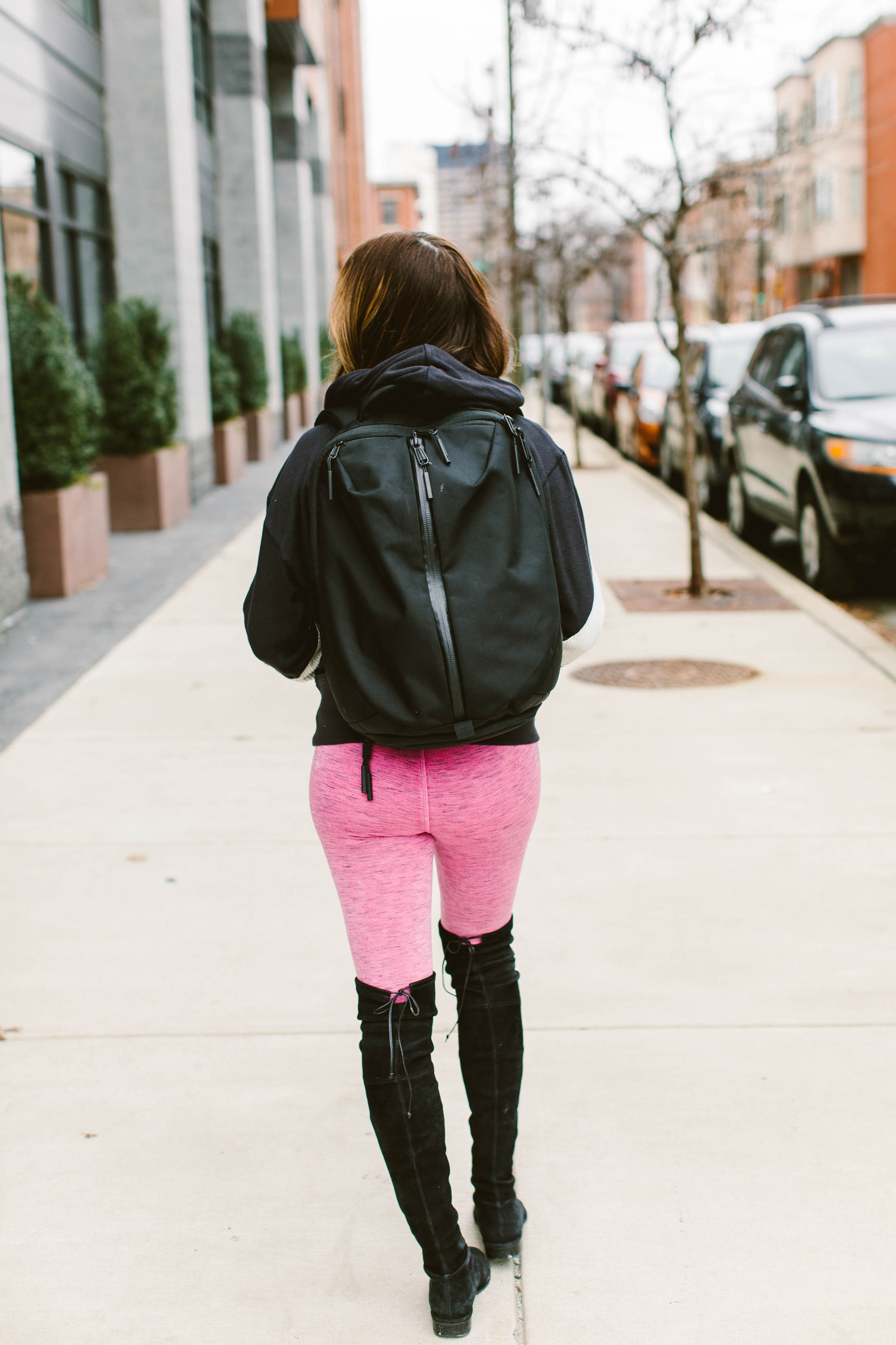 That cozy sweet spot between pajamas & athleisure you can wear outside? We got it. Leggings, hoodies, skinny sweatpants...we got your comfy right here.
