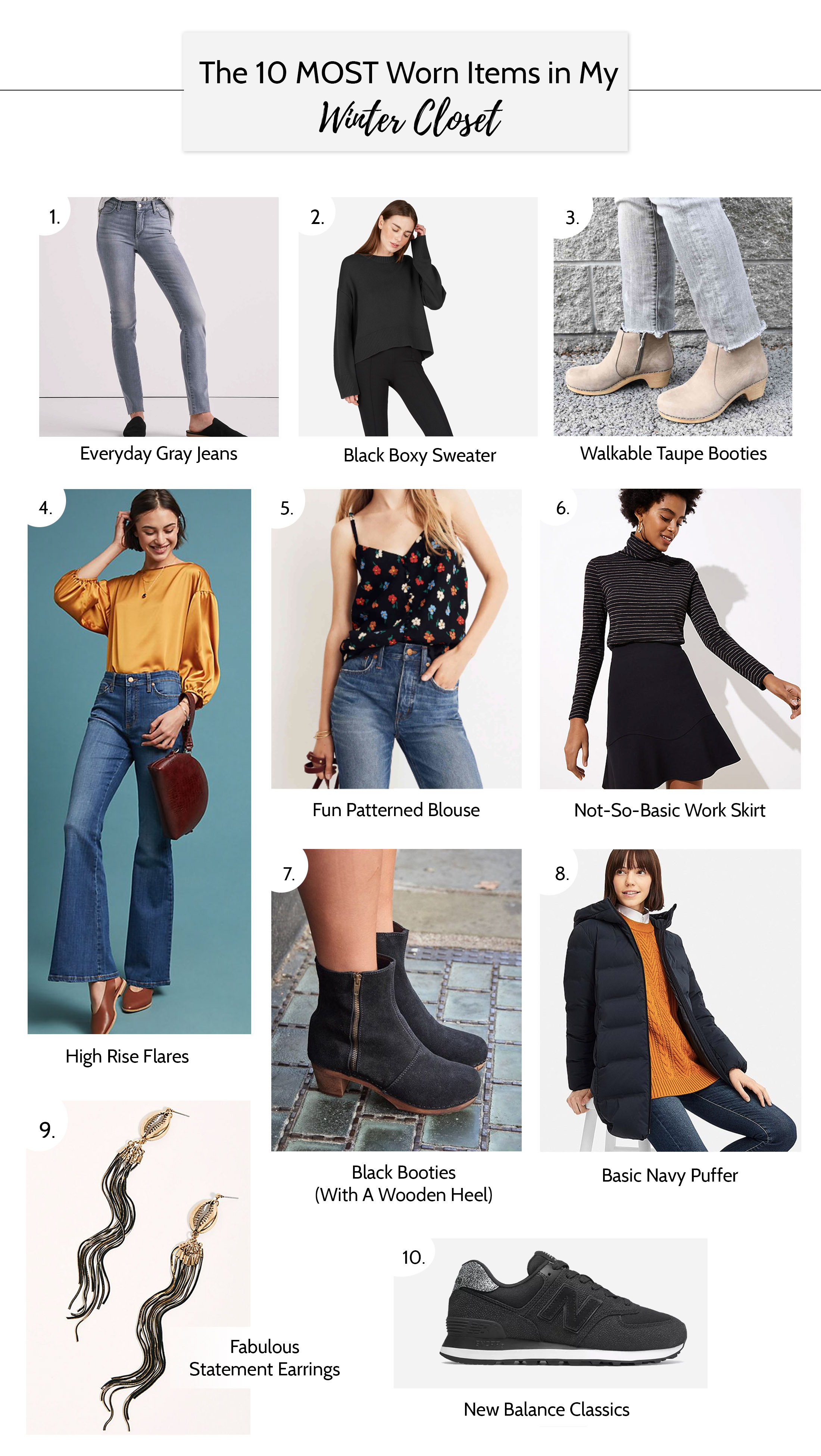 Some wardrobe pieces are just SO, that we wear 'em on repeat, whether they're favs or not. Peep these outfit-making staples — my daily go-tos right now.