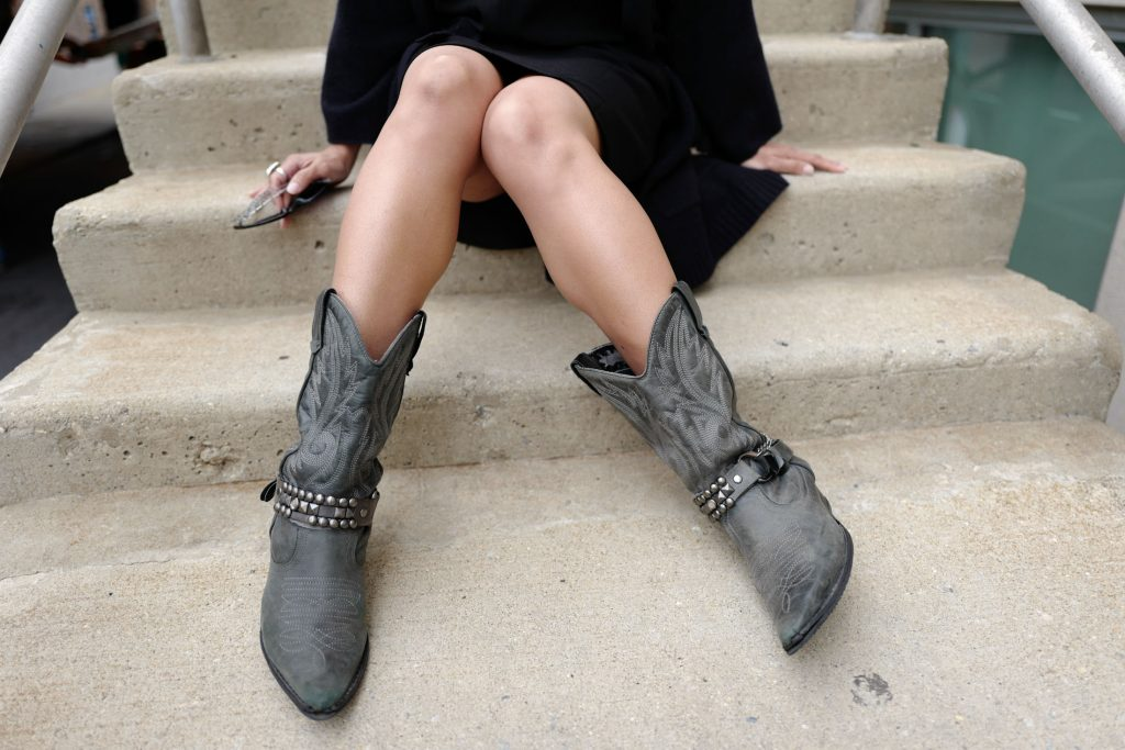 Perfect year-round statement shoes? Western boots. Outfit-making, seasonless, walkable cowgirl boots invite fearlessness & the swagger to match. See why.