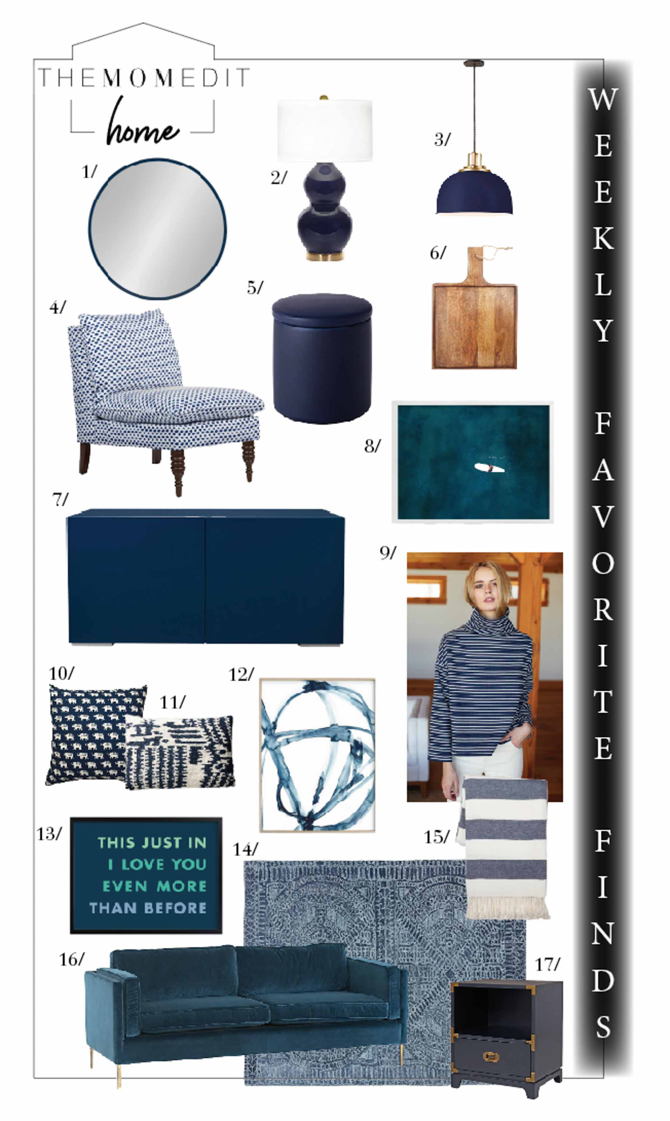 Hey there, Winter Blues! We see you. Beautiful blues add the perfect pop for home decor & accents— we're on it. Check it out & shop all the sales.