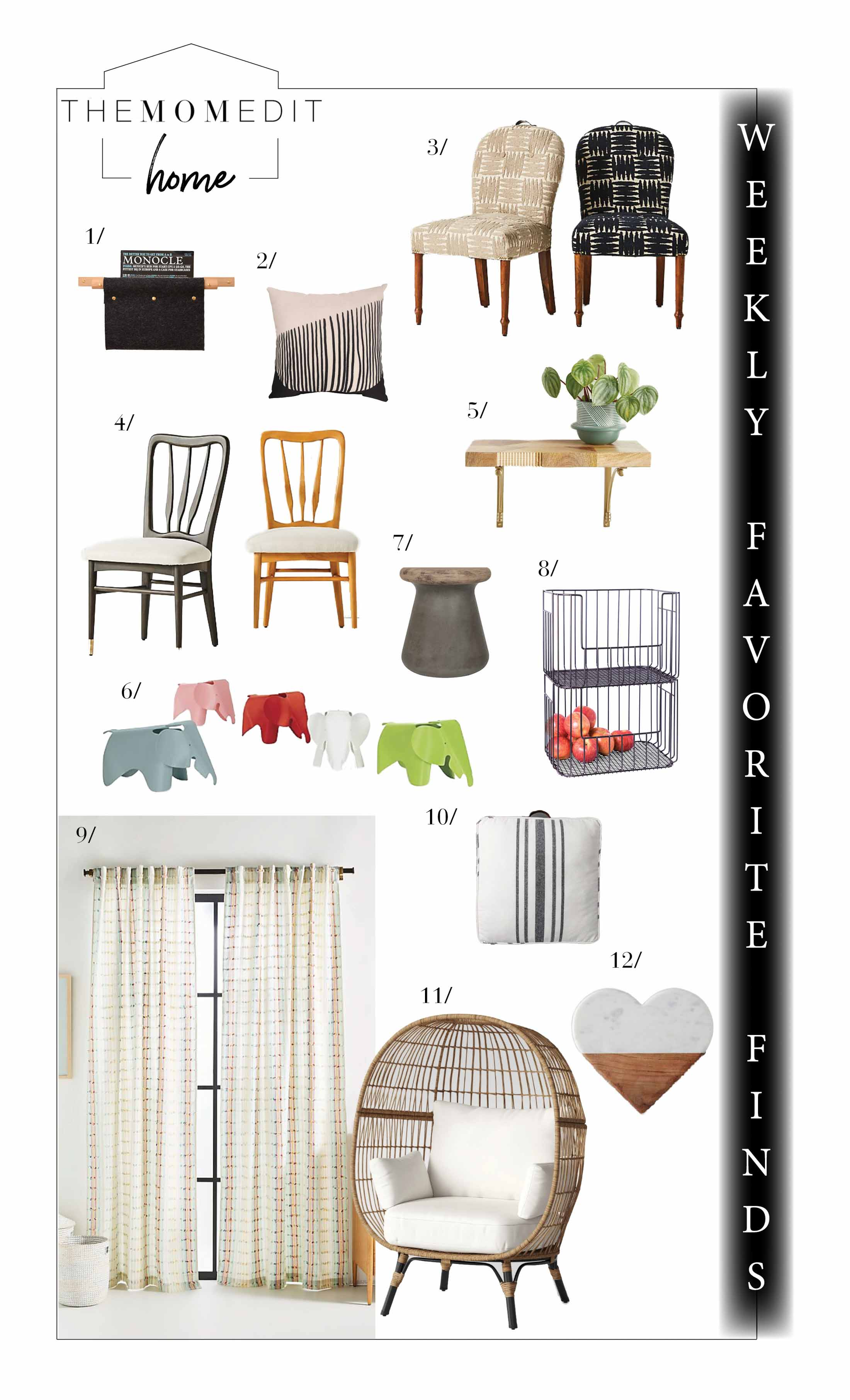 Oh hey, sunshine! This week's favorite finds in home decor feature a little hope & a lot of style. Warm neutrals & rattan for the win! Plus — all the sales!
