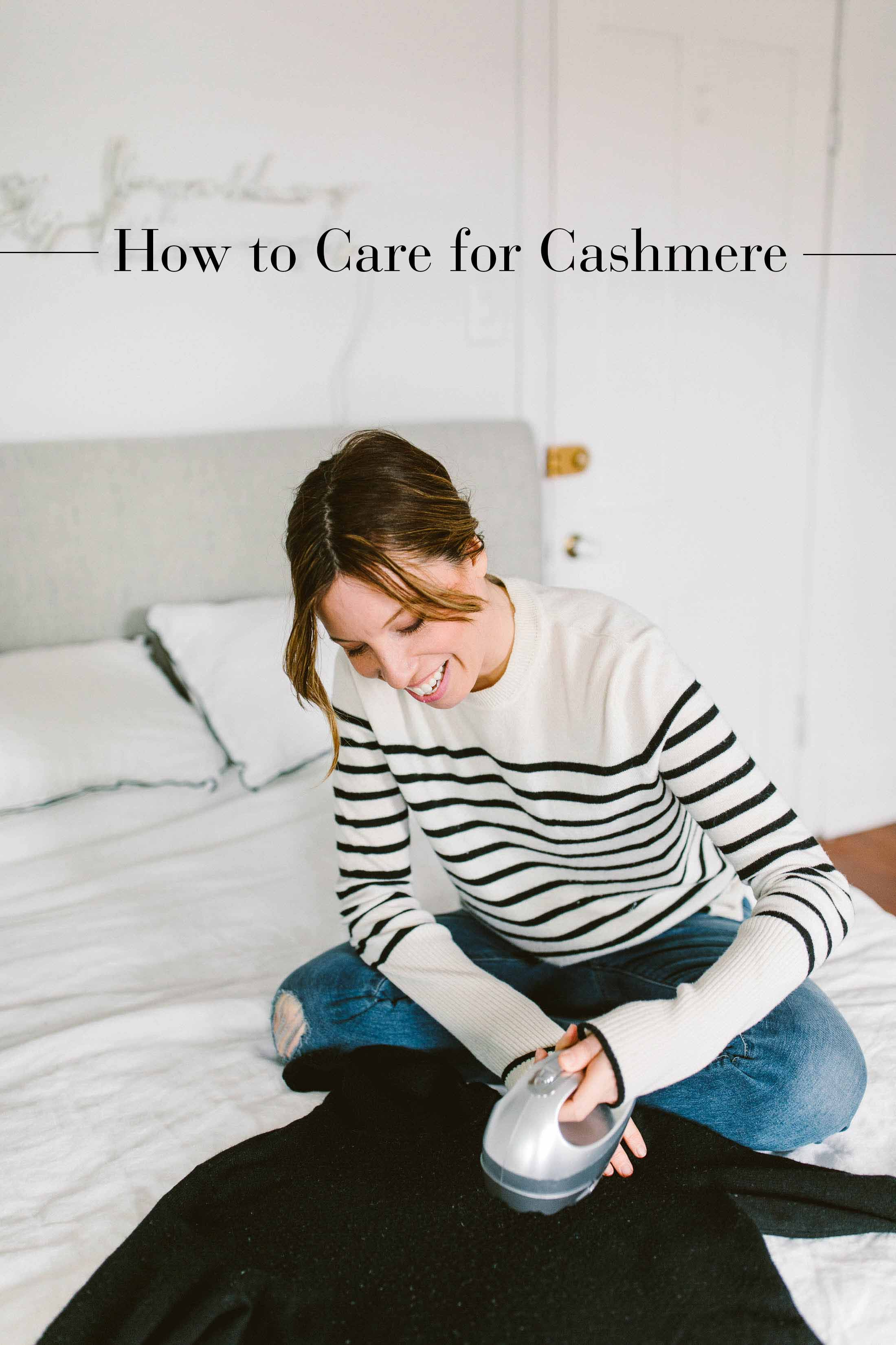 Cashmere is just as cozy casual as it is dressed up. And how to care for cashmere is more challenging than styling it. Save your sweaters with our 8 tips.