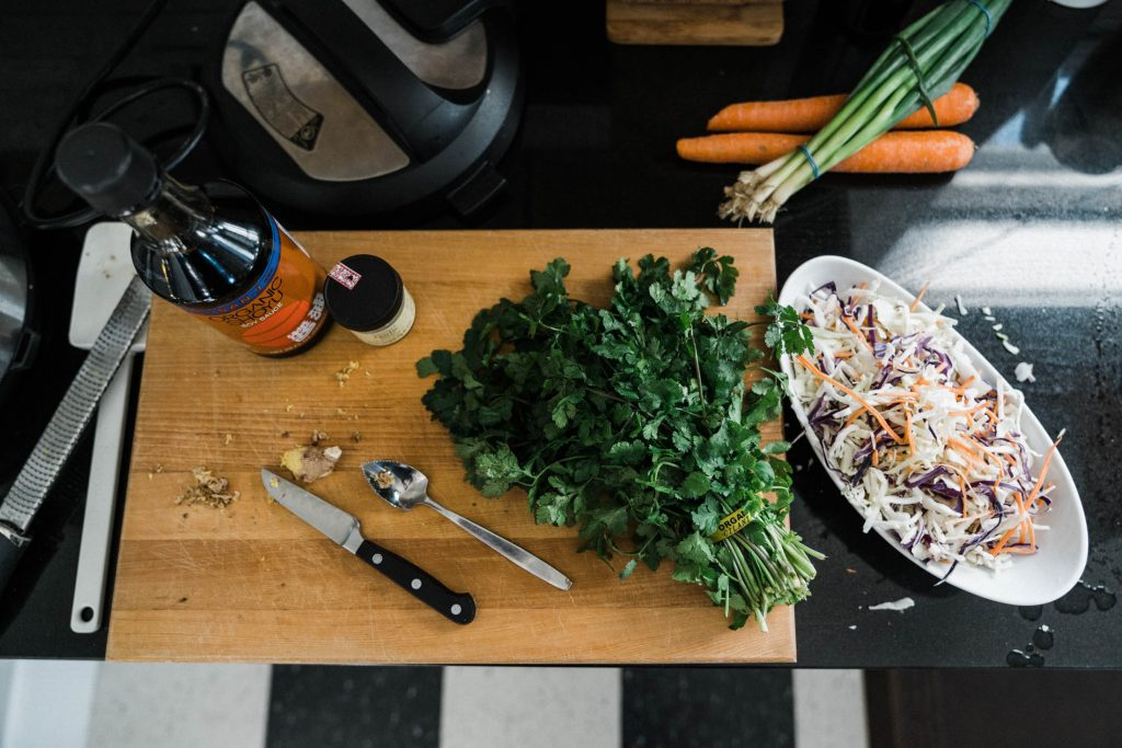 The Instant Pot makes it easy to cook a meal without ALL THAT CHOPPING — & cute serving dishes make eating it even better. Here's how we're doing it.