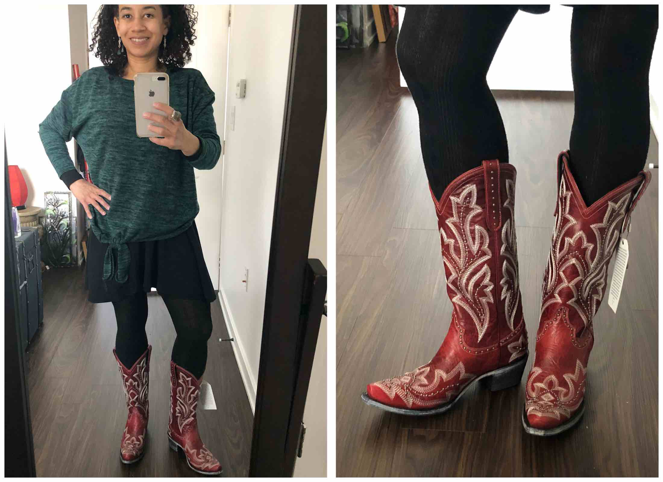 d7f94e4b Perfect year-round statement shoes? Western boots. Outfit-making,  seasonless,