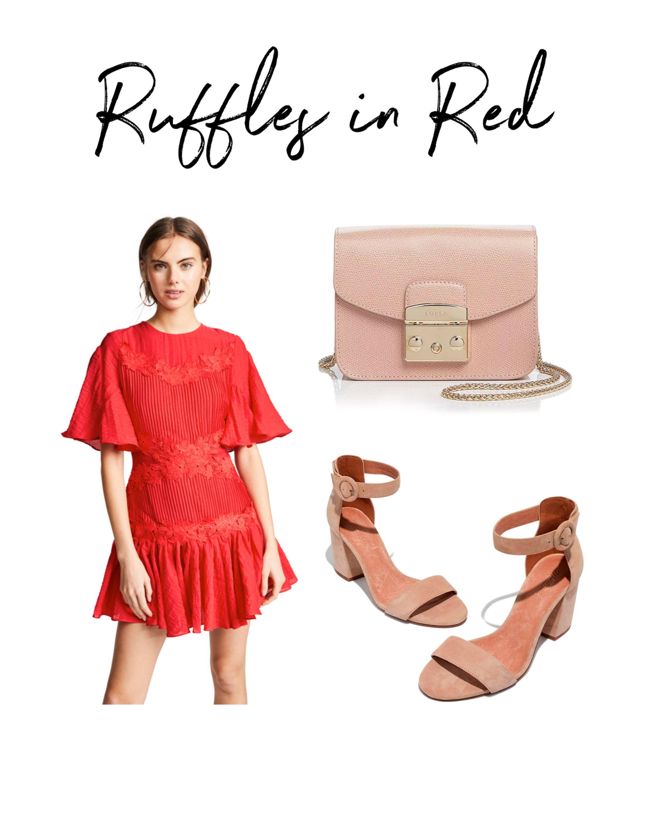 Nothing like a romantic, swoon-worthy red dress. Whether you need a Valentine's Day outfit, date-night dress or winter pick-me-up —we have 4 chic styles.