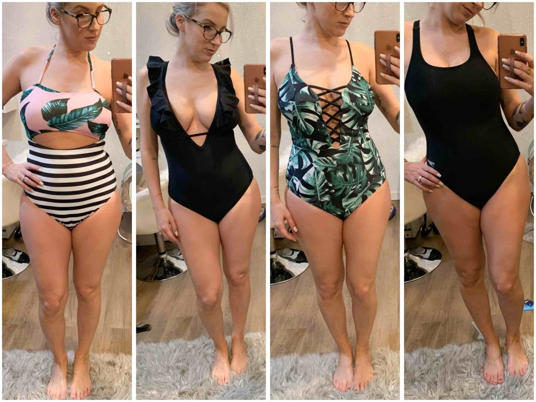 Gals —swim season is ALMOST here. With a postpartum bod & nursing-friendly needs, it's a BIG DEAL. For swimming & running on the beach, here are my favs.