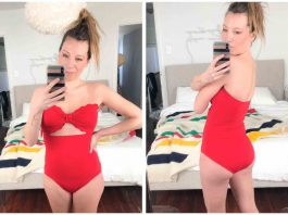 It's. Almost. Swim. Suit. Season...Oy, Mamas! We're trying ALL the bathing suits — fromcute one pieces to high-rise bikinis. Join our 1st swimwear sesh!