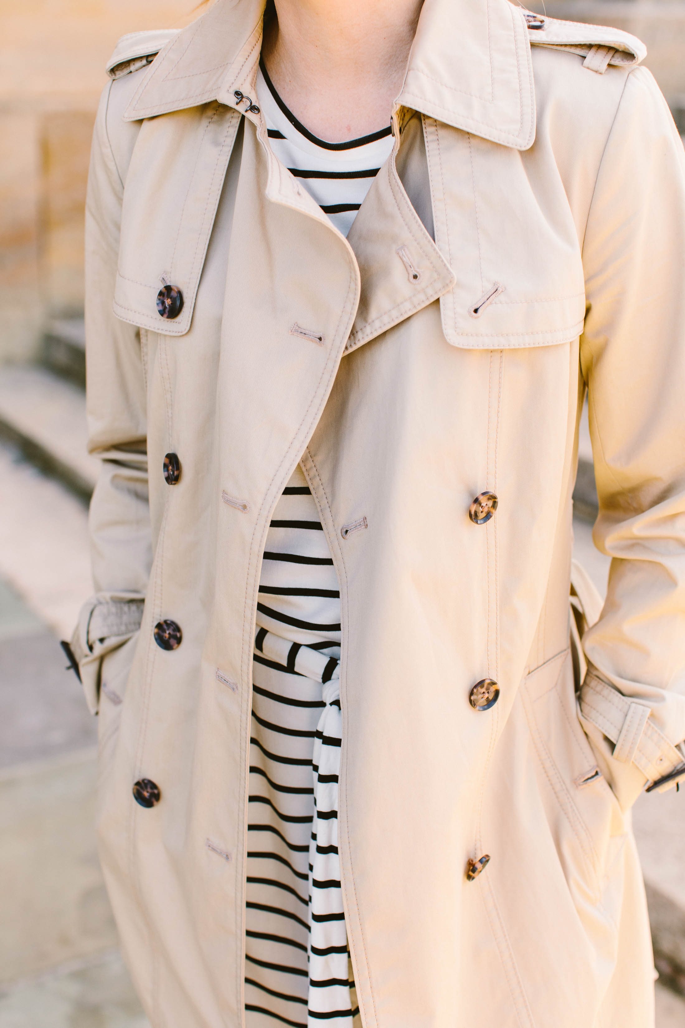 Boots & dresses season is here! We're eyeing Banana Republic for Spring dresses, & warming those up with boots, jackets & trench coats — 2 looks right here.