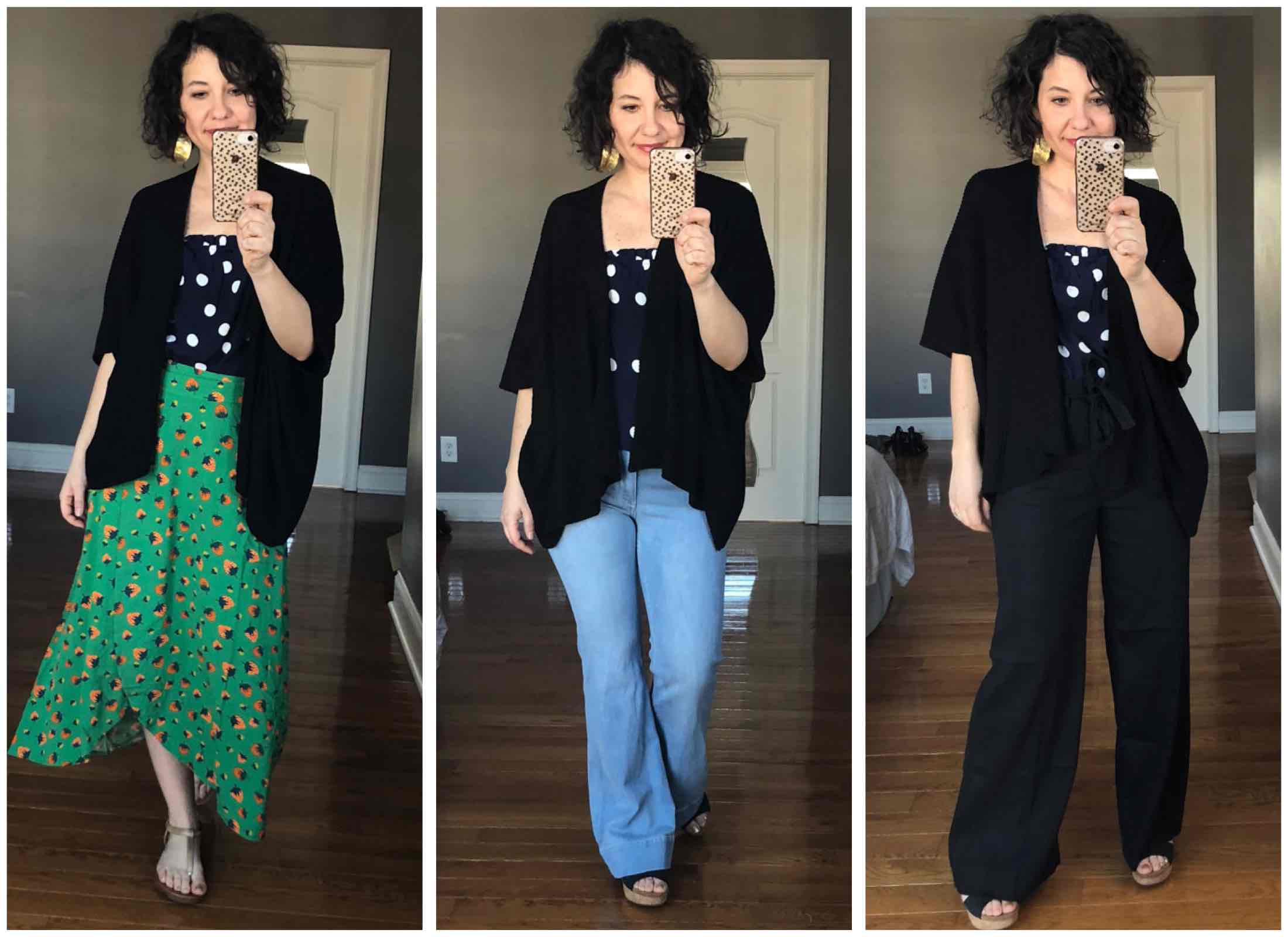 Building a capsule wardrobe for 2019 starts with those pieces in your closet that spark joy — then mix-and-matching to make outfits you LOVE. Here's how.