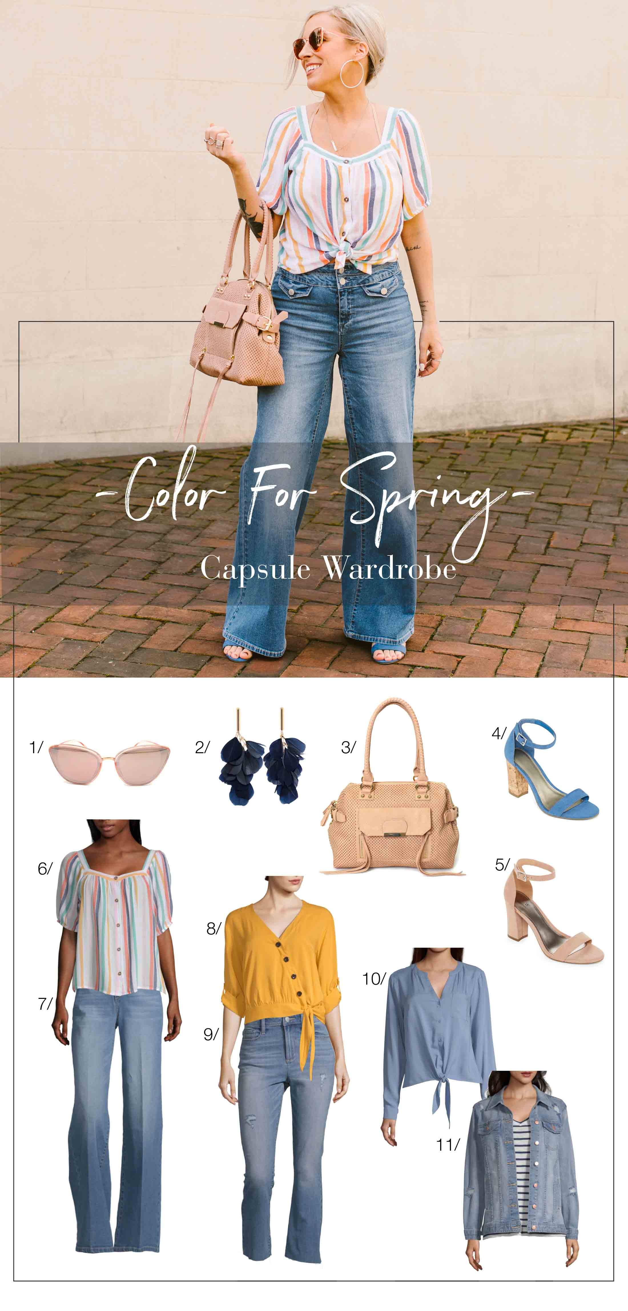 837e96dd8d8 Colorful   Affordable  The Capsule Wardrobe You Need for Spring ...
