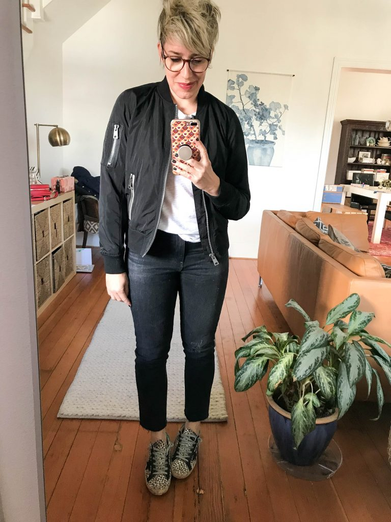 Oh hey, Spring! It's time for an update on that moto jacket, eh? We're eyeing some cute but tough-ish flight jackets & bomber jackets....Levi's maybe?