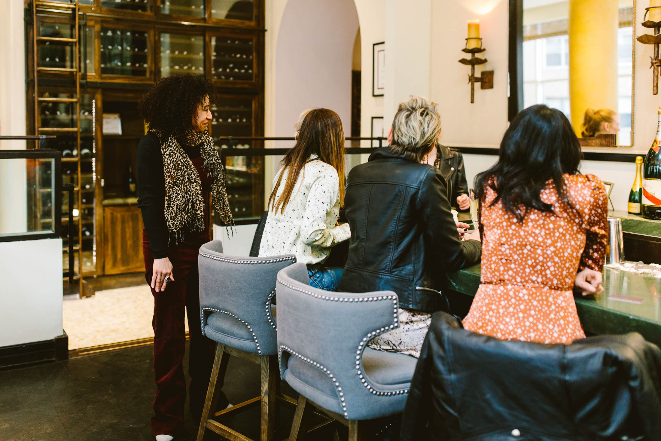 The Rittenhouse Hotel was the perfect place for the team to stay in Philadelphia for our togetherness visit. The bar at Lacroix + the rooms = just right.