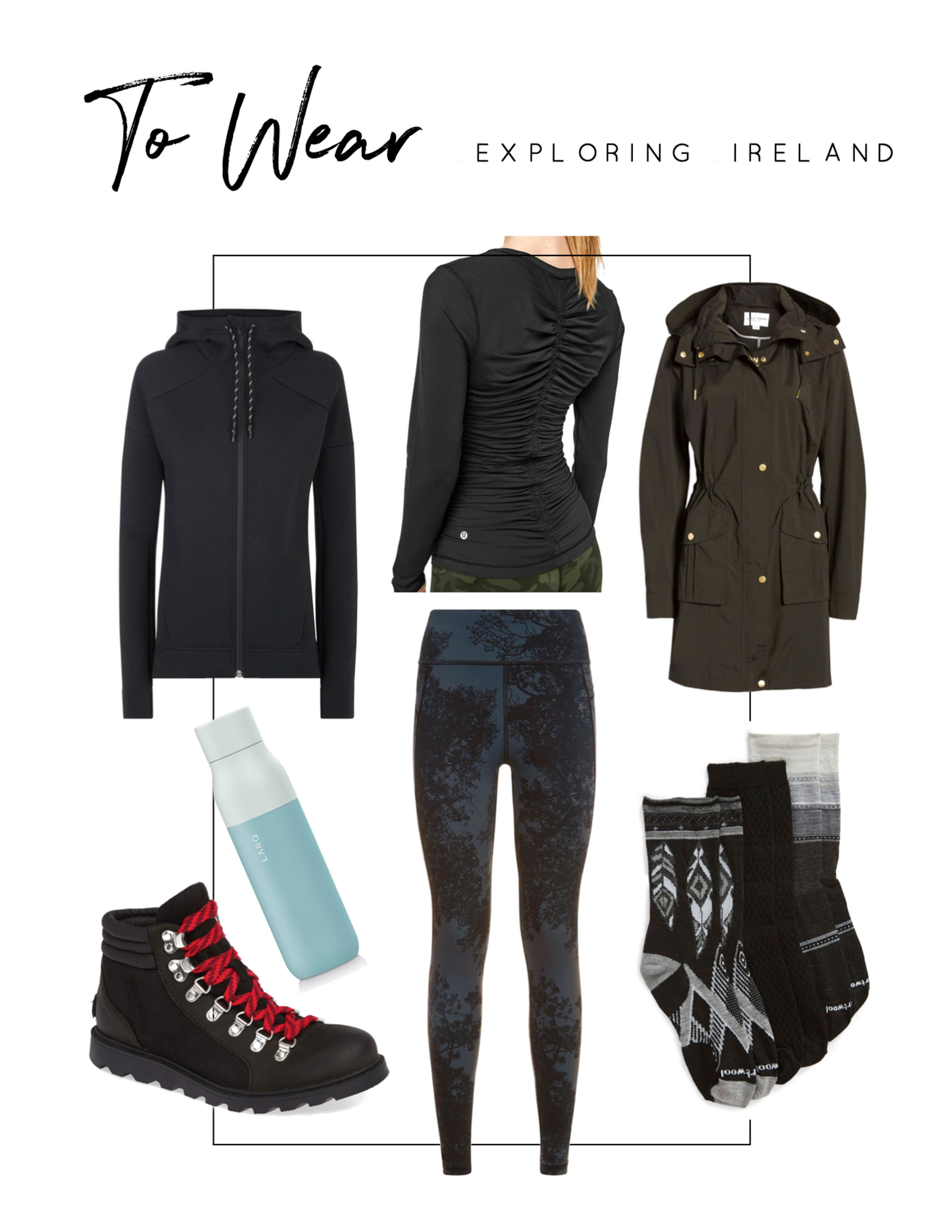 Visiting Ireland in the Spring? We've some cute outfits, perfect for day-to-night, exploring the countryside & traveling on the plane. Let's go!