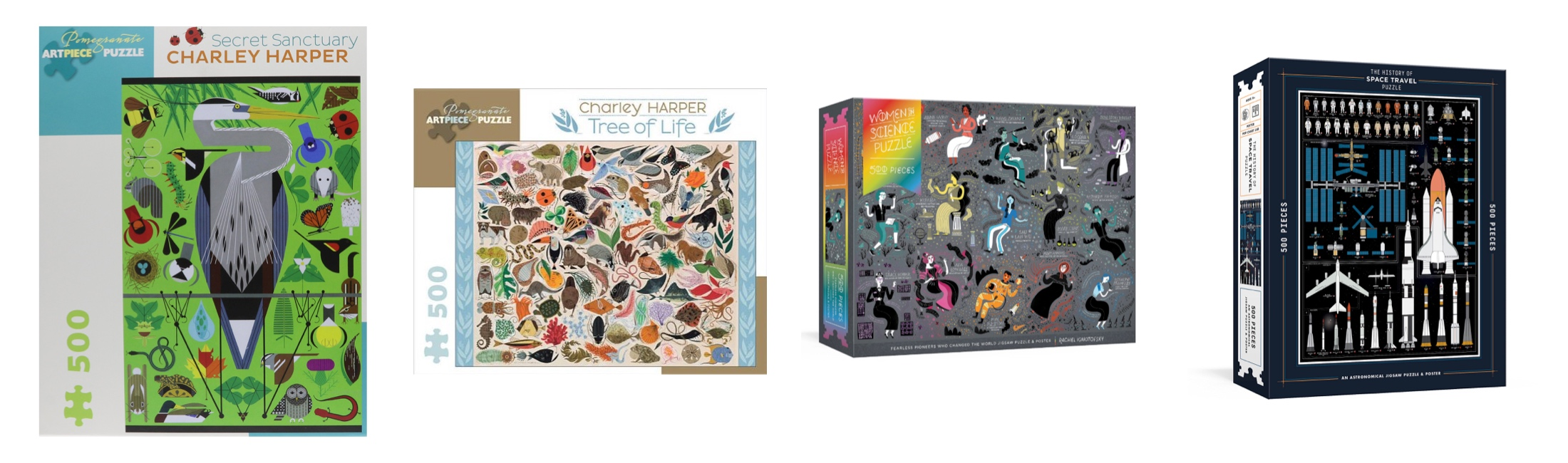 Puzzles are a great family friendly activity when you & the kids (or hubs) just want to chill. We like them to be pretty, too. I know, right? See our favs.