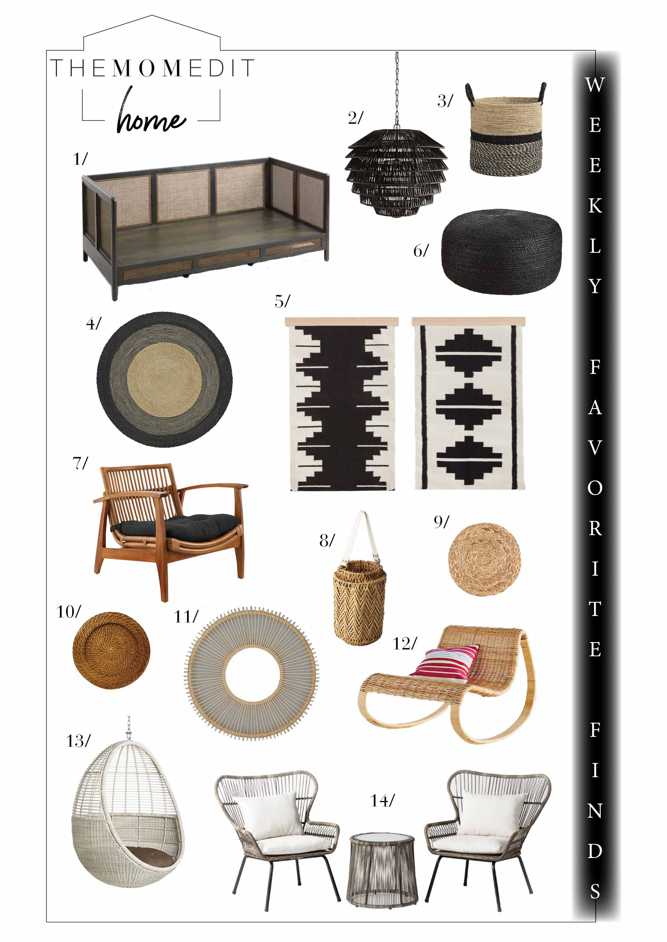 Rattan, wicker, seagrass...all the woven furniture we love this spring — for living rooms, patios & bedrooms is right here. Plus, so many home decor sales.