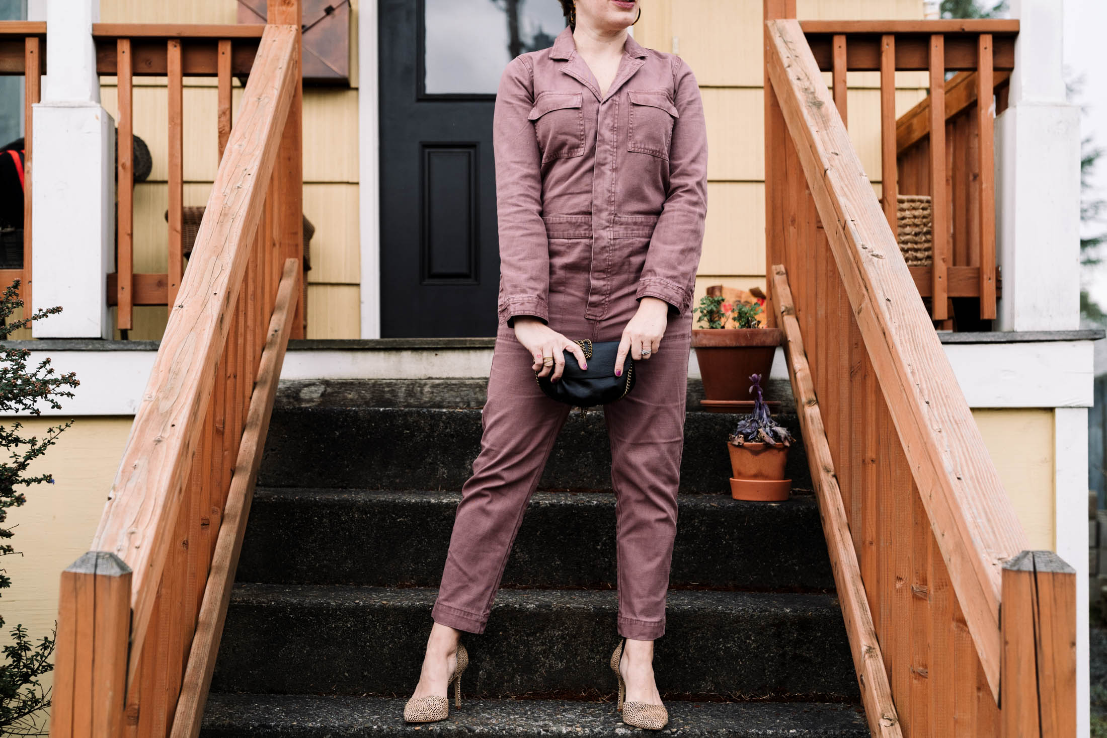 Jumpsuit lovers, rejoice! Coveralls may be your next foray into fashion's wilds. I'm trying the day-to-night vibe of the Madewell coveralls...check it out.