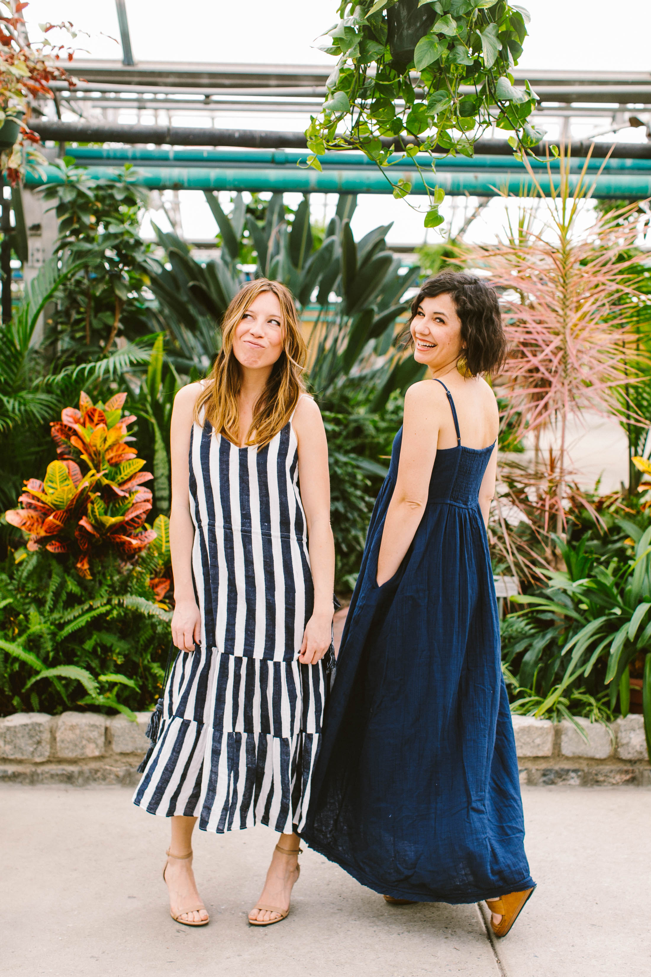 From flowy boho-chic tees to breezy maxi & wrap dresses, Voloshin's handprinted pieces are insanely well-suited for summer outfits. We love the spring line.