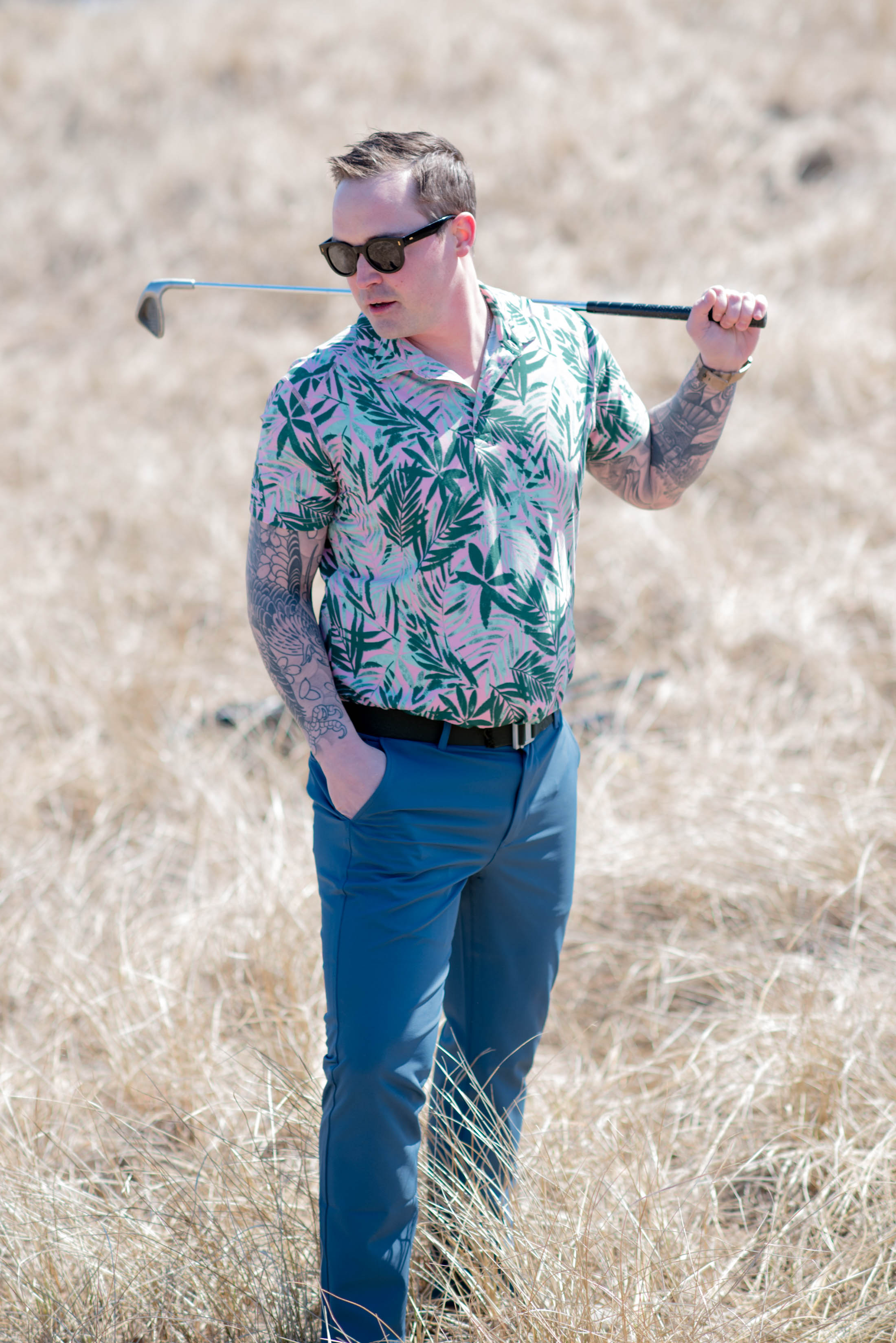 It's all fun & games on the golf course until someone's uncomfortable. Golf apparel for men has to be just right...so we're this round we're trying Bonobos.