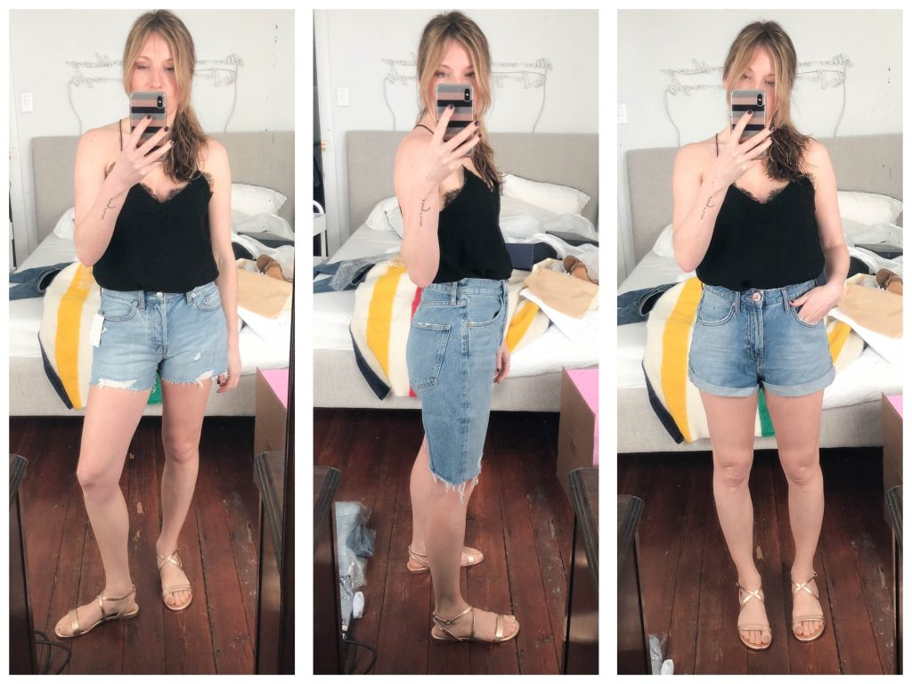 6bb52b28924 A Rather Horrifying Denim Shorts Try-On Sesh (  What I ll Actually Be  Wearing…)