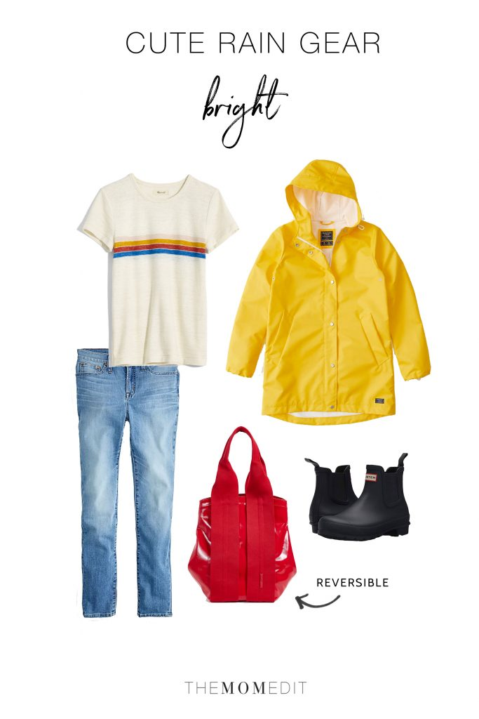 Style inspo for staying dry is always welcome. We're on it. Try these 4 cute rainy outfits — chic, sporty, eco-friendly & bright — they're all so good.