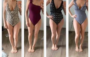 Found: cute 1-piece bathing suits. J.Crew's swimsuits are pretty, fun & sexy —plus, flattering for several women's body types. See my #dressingroomselfies.
