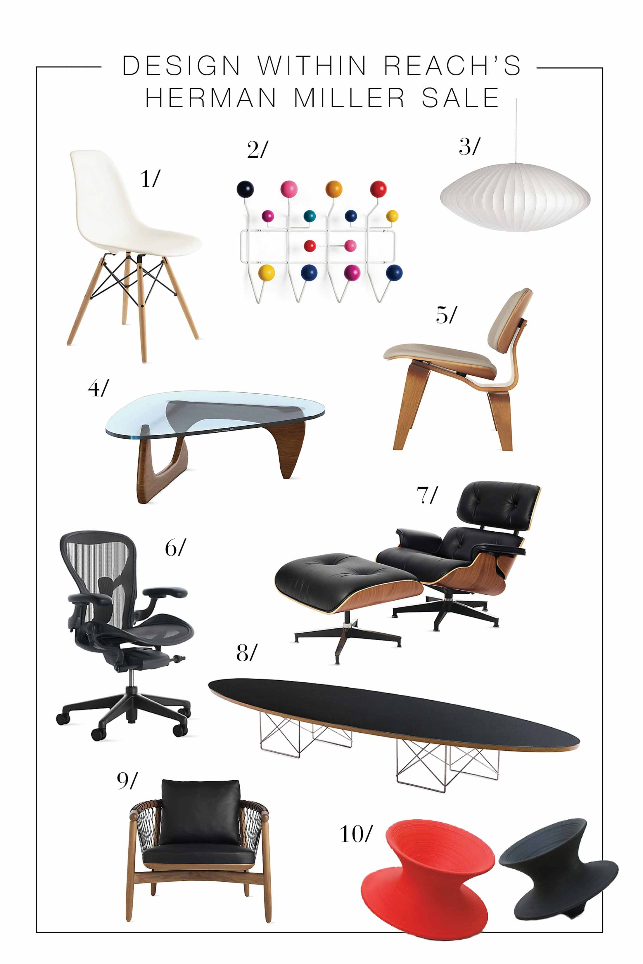 If modern & mid-cenrtury modern furniture gives you life, you need these iconic investment-worthy pieces in your life. Welcome to DWR's Herman Miller sale.