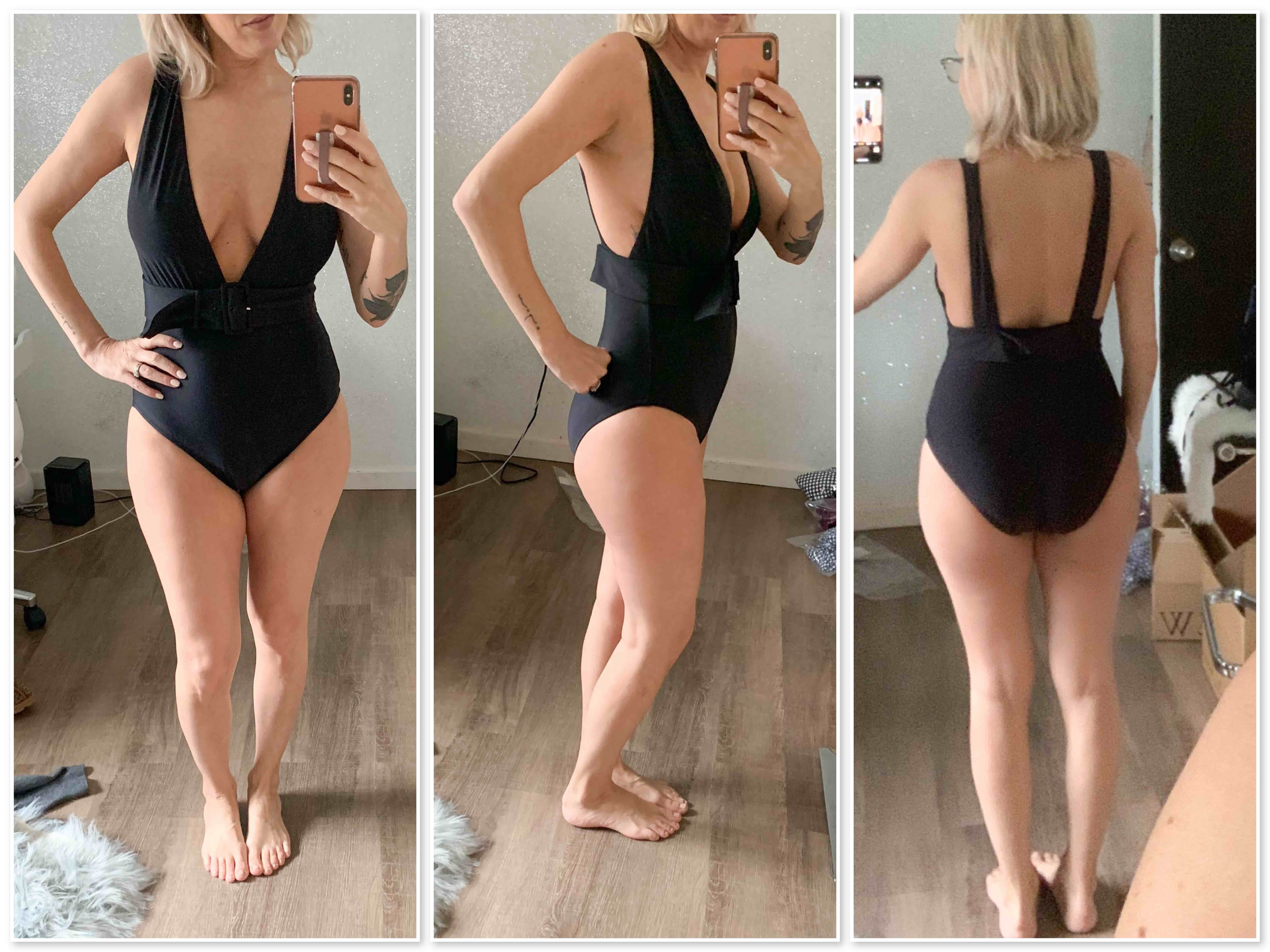 Found: cute 1-piece bathing suits. J.Crew's swimsuits are pretty, fun & sexy — plus, flattering for several women's body types. See my #dressingroomselfies.
