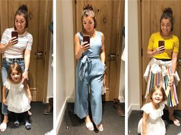 A ton of flattering rainbow stripe, a cute chambray jumpsuit, some dress 'em up/dress 'em down dresses & more —my J.Crew sale picks, right here