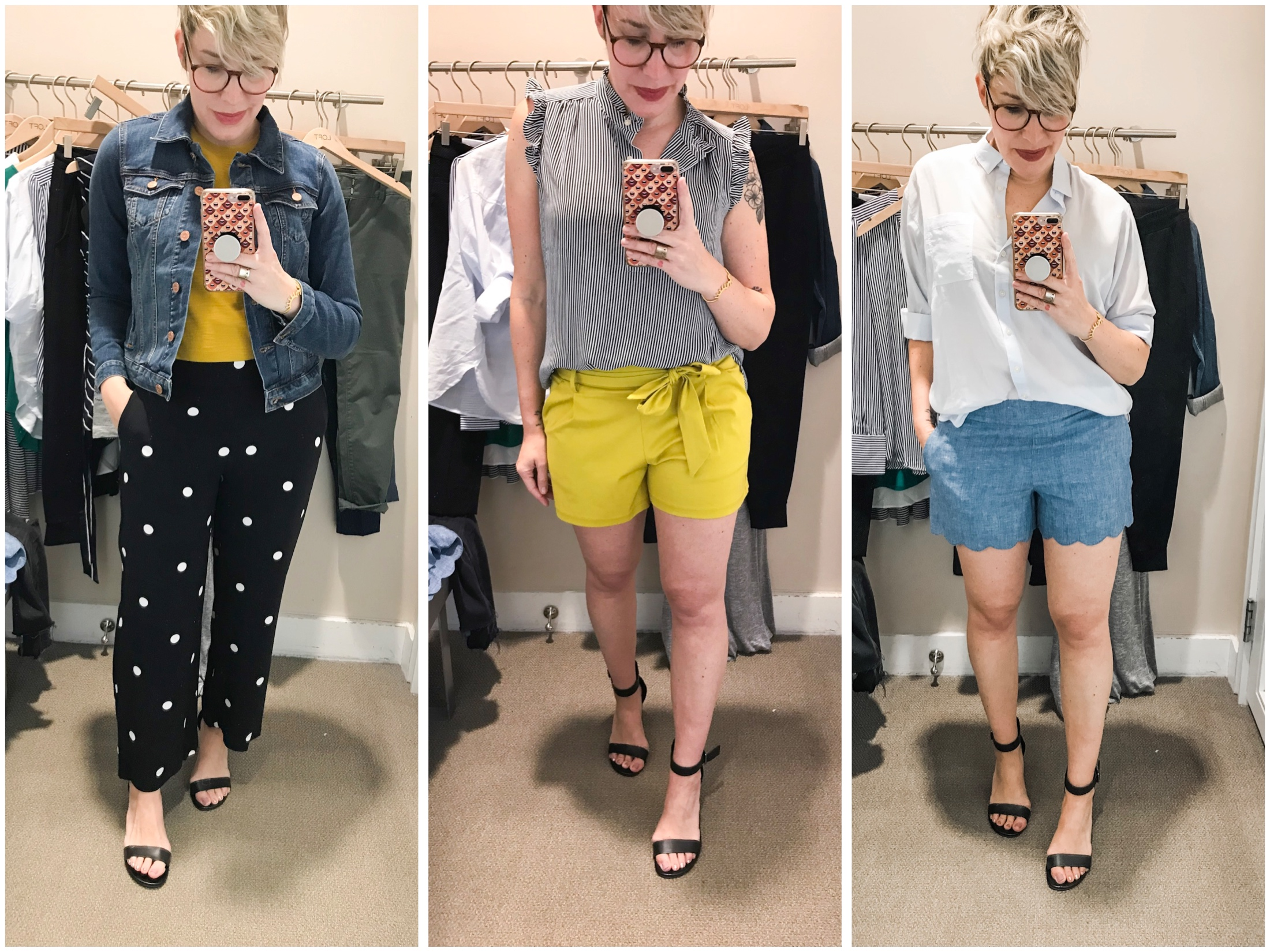 146186eada5 It s definitely time for a round of  dressingroomselfies from LOFT. Cute  spring   summer