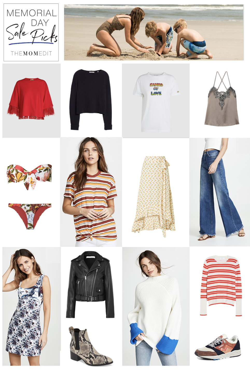We do the research so you don't have to: same goes for Memorial Day clothing sales. My top picks —from Net-a-Porter to J.Crew to Nordstrom, right here.