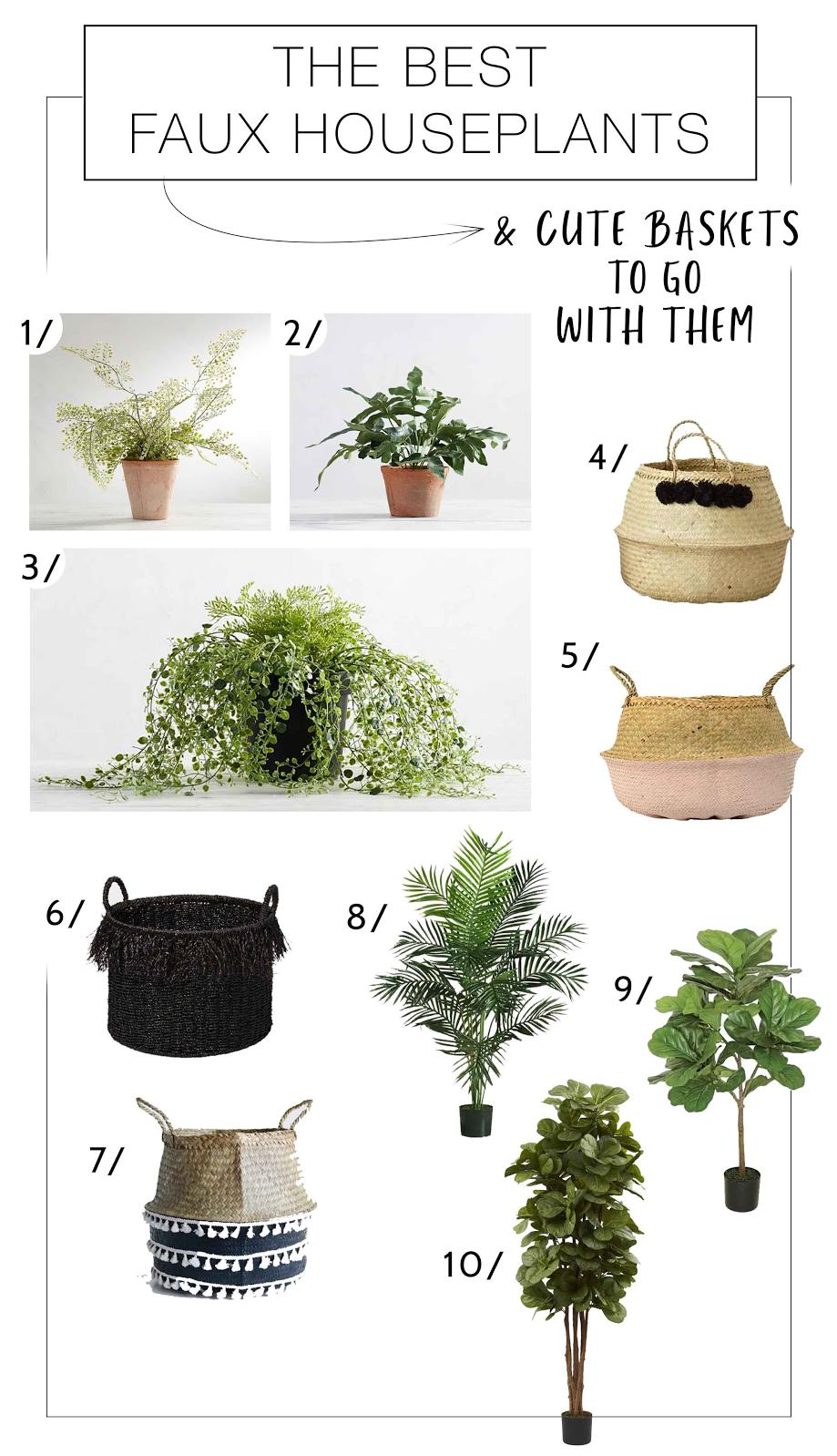 The easiest house plants to care for? The fake ones. Uh — we mean faux, faux house plants. We've got a list that look totally real —trust us.