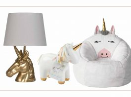 What we love about rainbow & unicorn room decor? It's bright, inspired & will grow with your littles. Our DIY kids' bedroom ideas —right here.