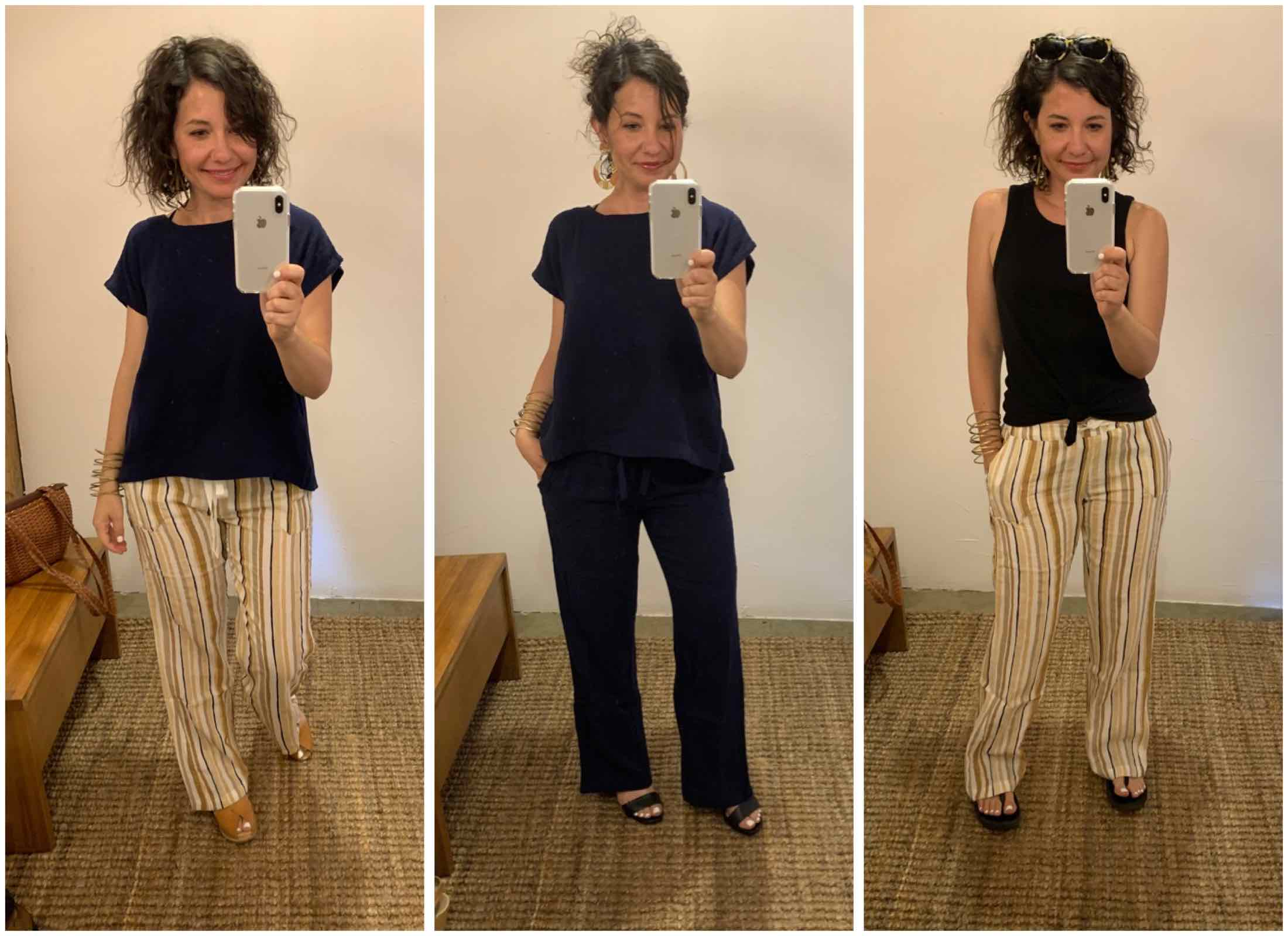 IT'S HERE! The Philly-based Voloshin X The Mom Edit collection is in — & we're trying it on. Check out our 1st batch of #DressingRoomSelfies.
