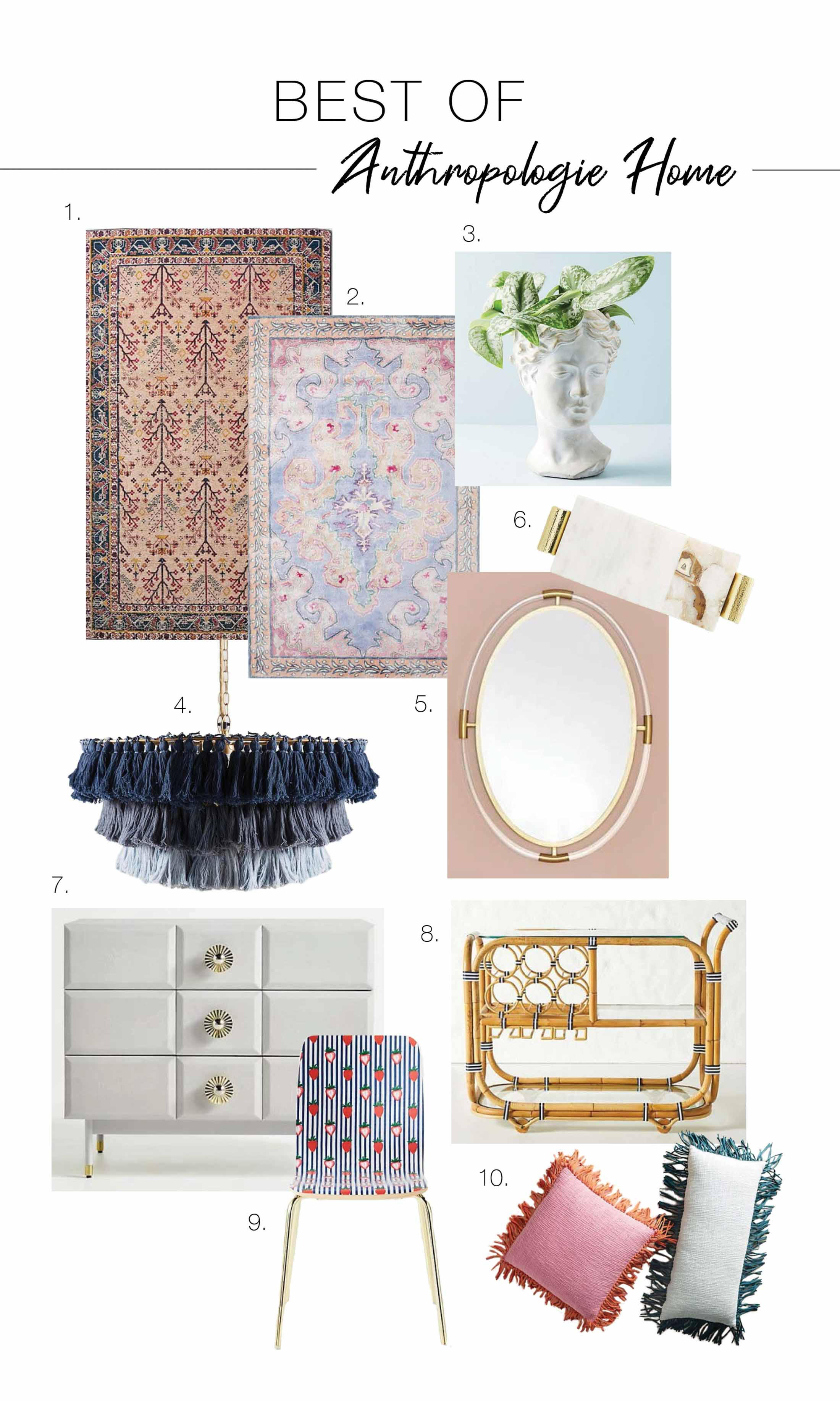 The Anthropologie Summer Home Event is SO GOOD. It's sale upon sale, for sweet furnishings & accents like rugs, bedding & kitchen. Check out our top picks!